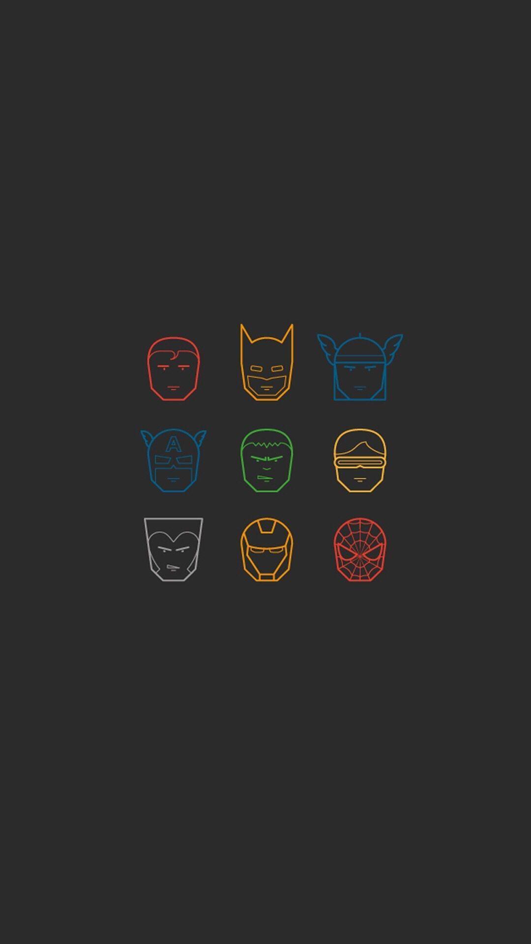 Avengers Minimalist Phone Wallpapers Top Free Avengers Minimalist Phone Backgrounds Wallpaperaccess