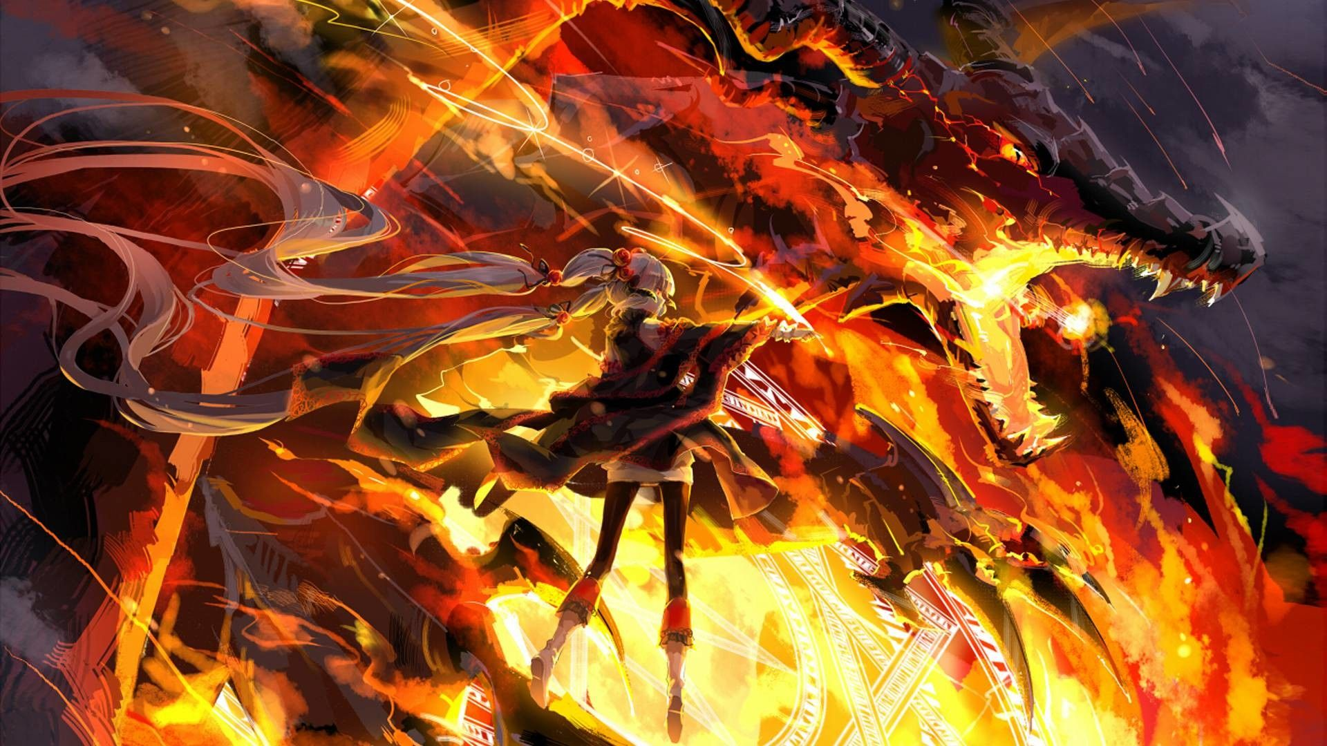 Anime Dragon Wallpapers Top Free Anime Dragon Backgrounds
