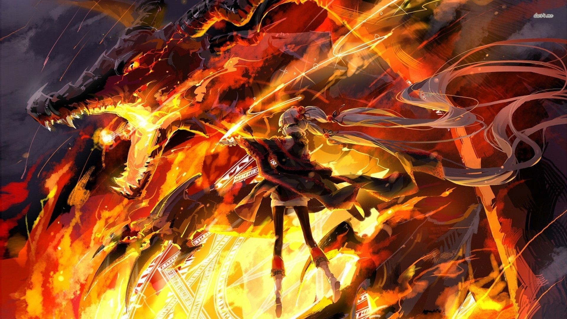 Fire Anime Wallpapers - Top Free Fire Anime Backgrounds