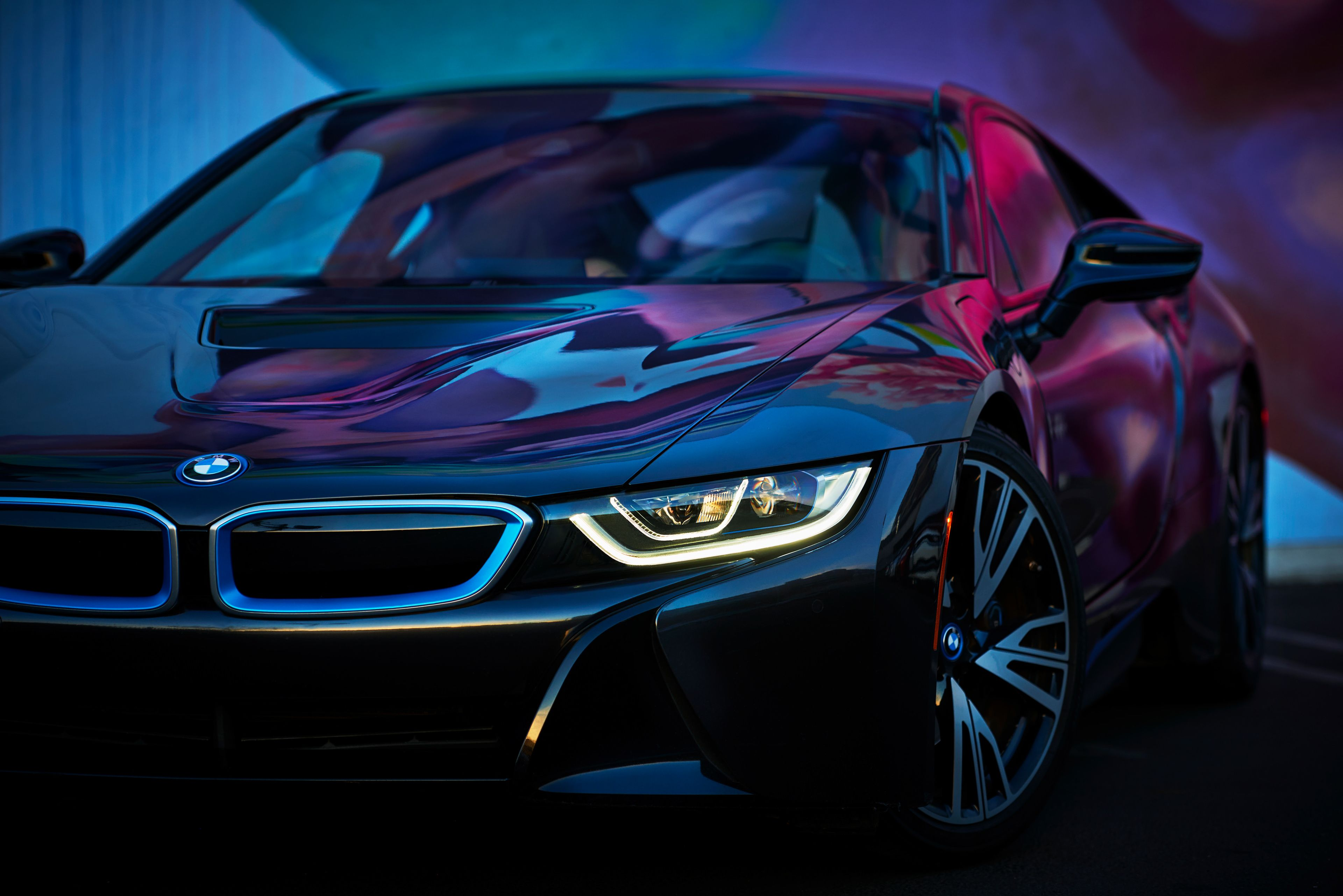 Bmw I8 Black Wallpapers Top Free Bmw I8 Black Backgrounds Wallpaperaccess