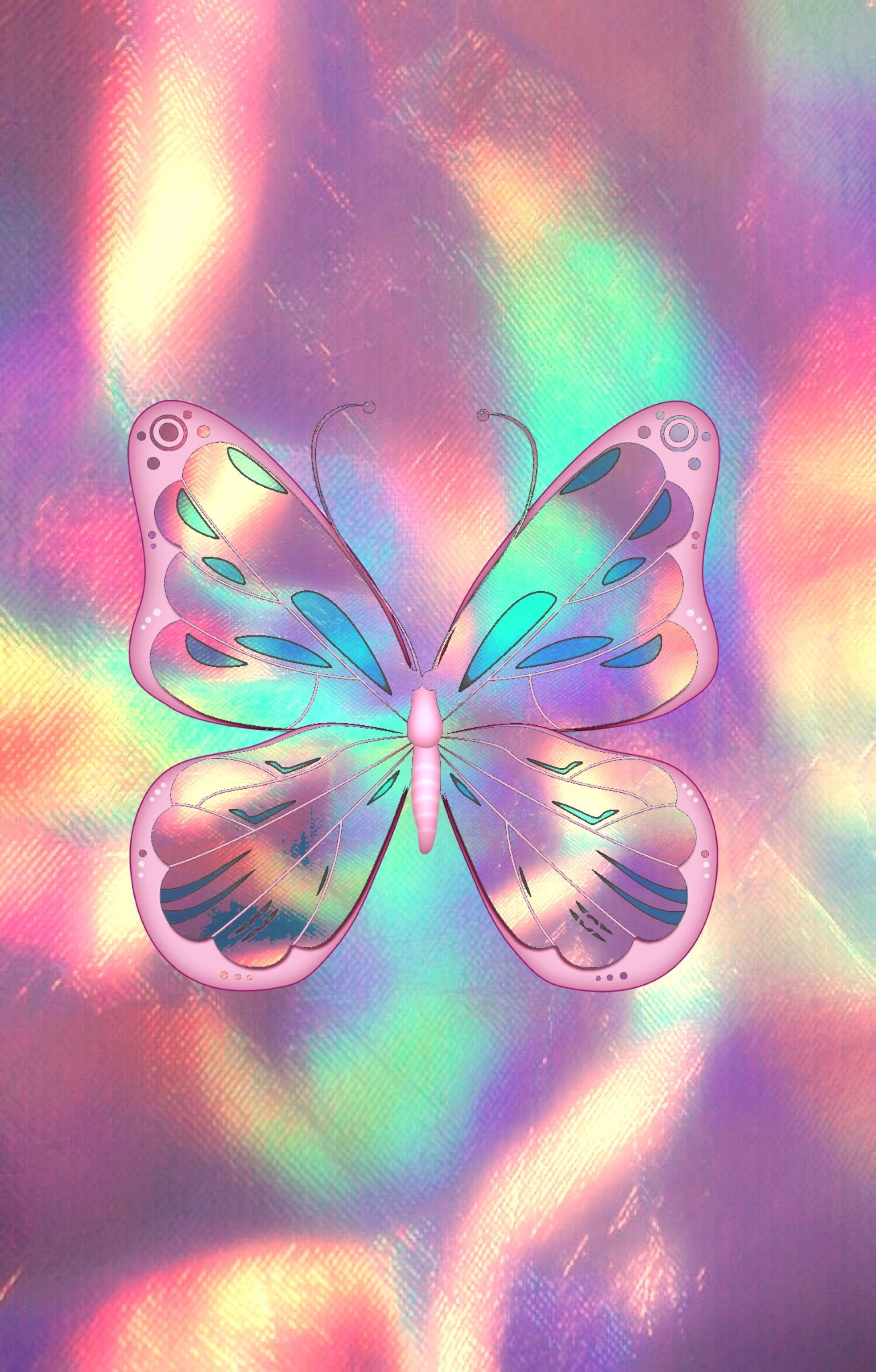 Neon Pink Butterfly Wallpapers - Top Free Neon Pink ...