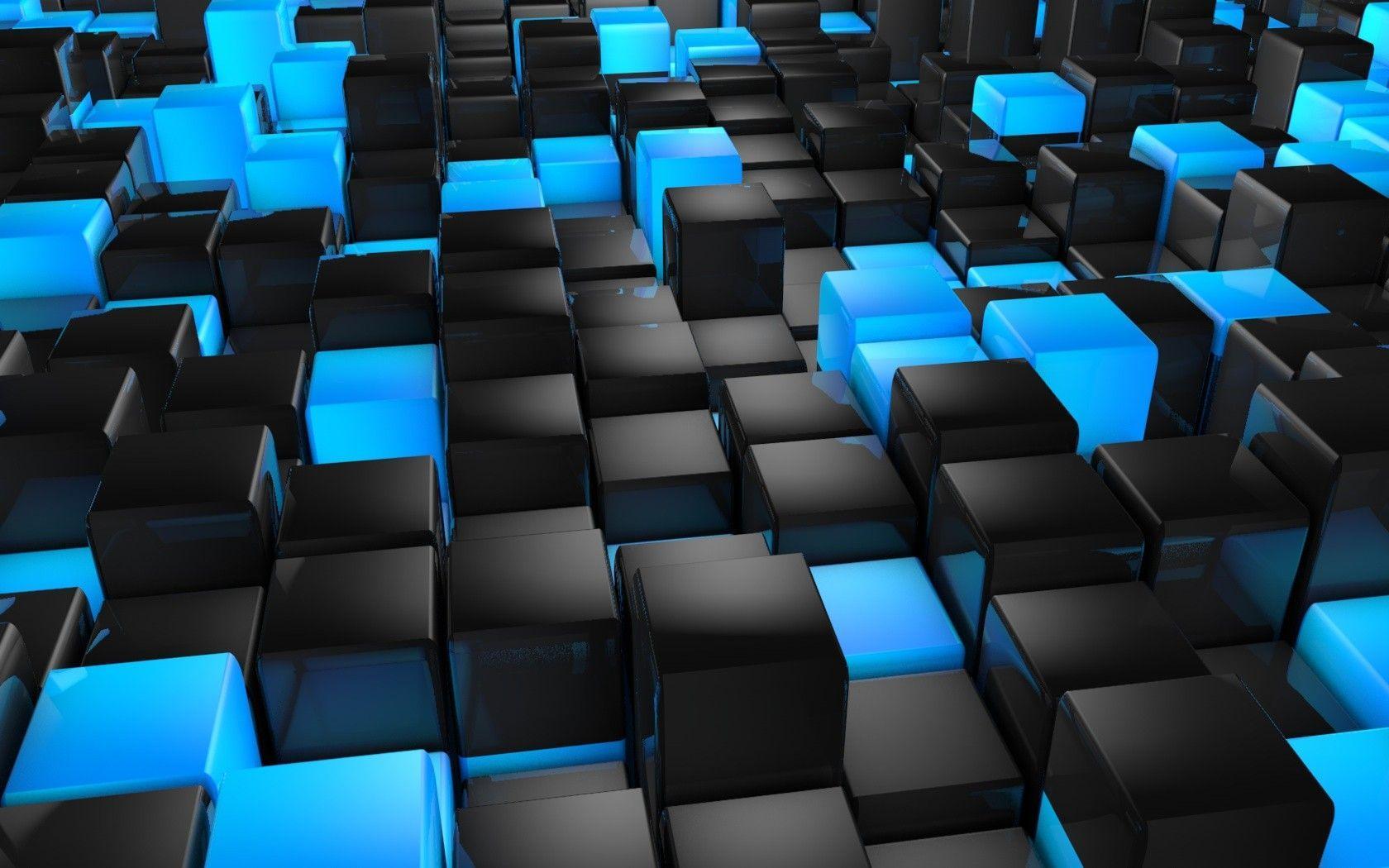 Blue 3D Wallpapers - Top Free Blue 3D Backgrounds - WallpaperAccess