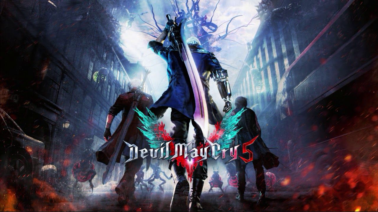 Devil May Cry 5 Wallpapers Top Free Devil May Cry 5 Backgrounds