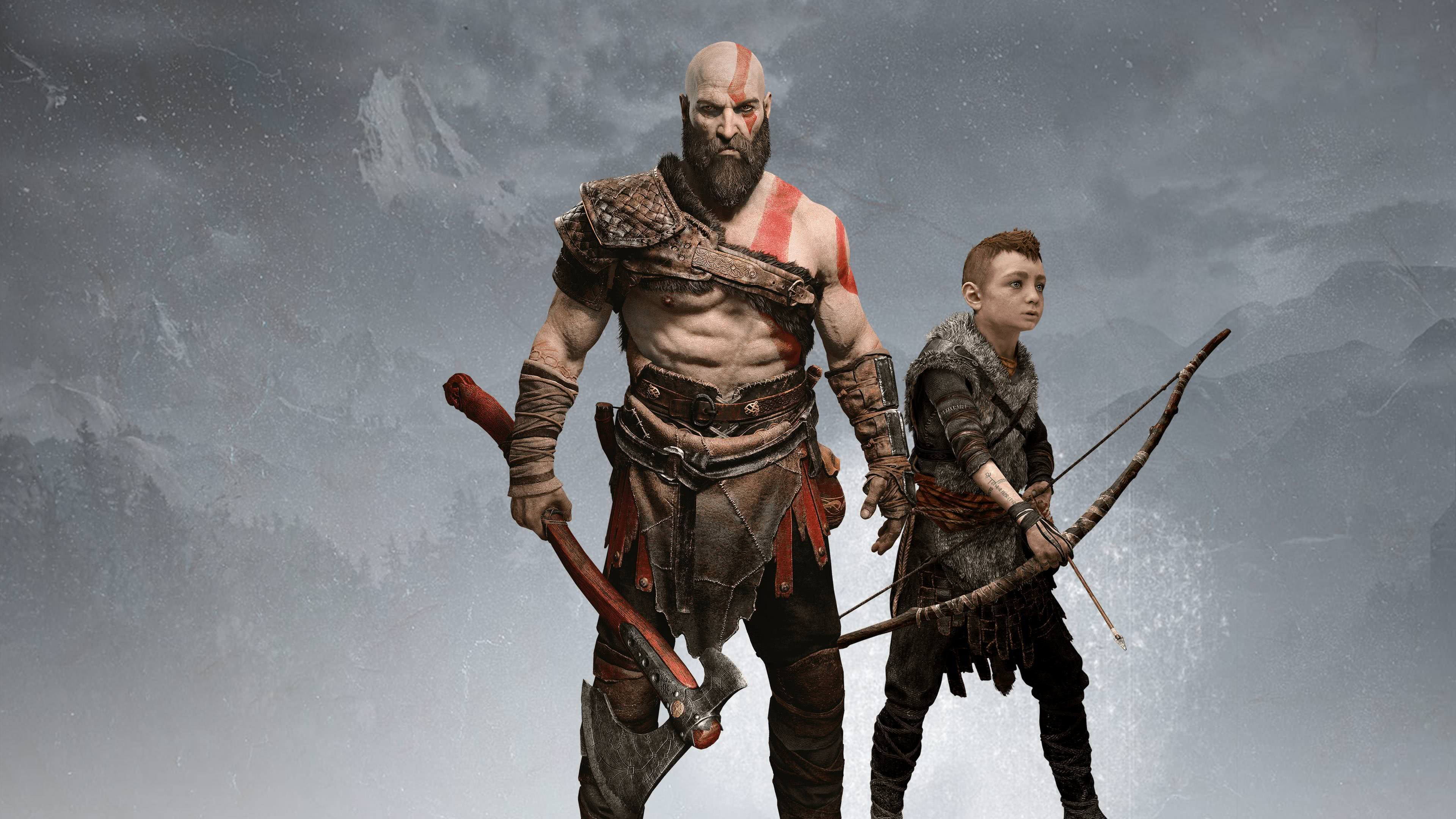 God Of War 4 Wallpapers Top Free God Of War 4 Backgrounds