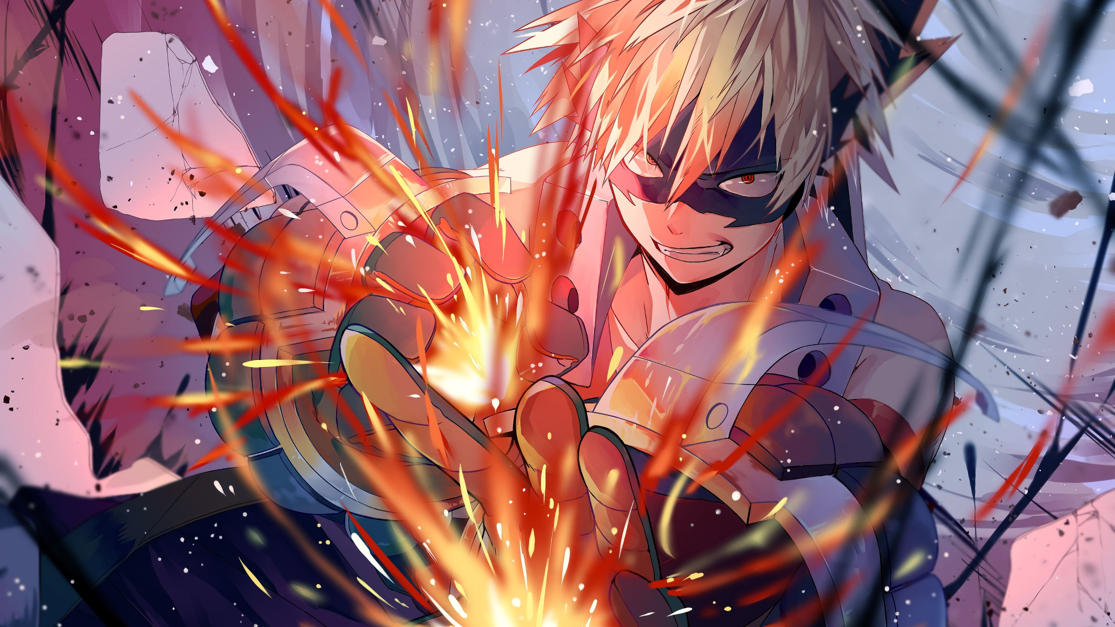 My Hero Academia Bakugo Wallpapers Top Free My Hero Academia