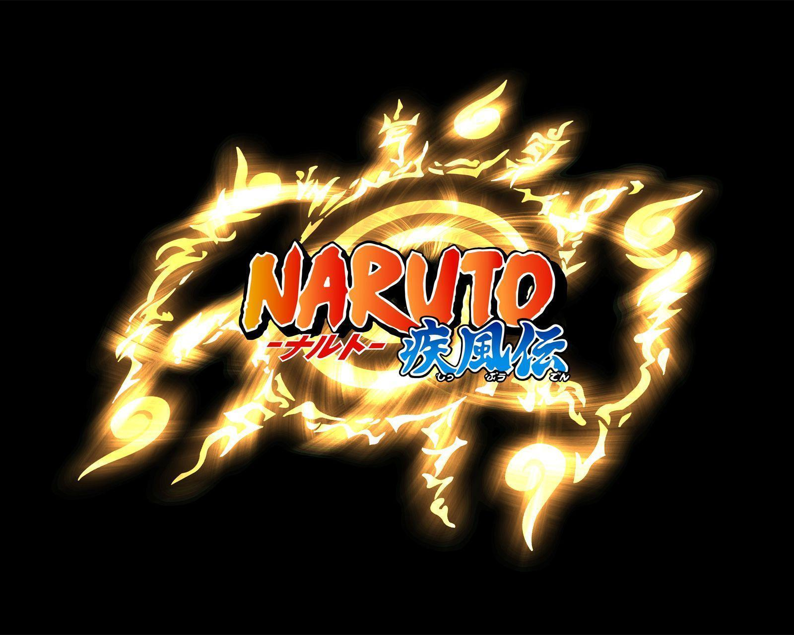 Naruto Logo Wallpapers Top Free Naruto Logo Backgrounds Wallpaperaccess