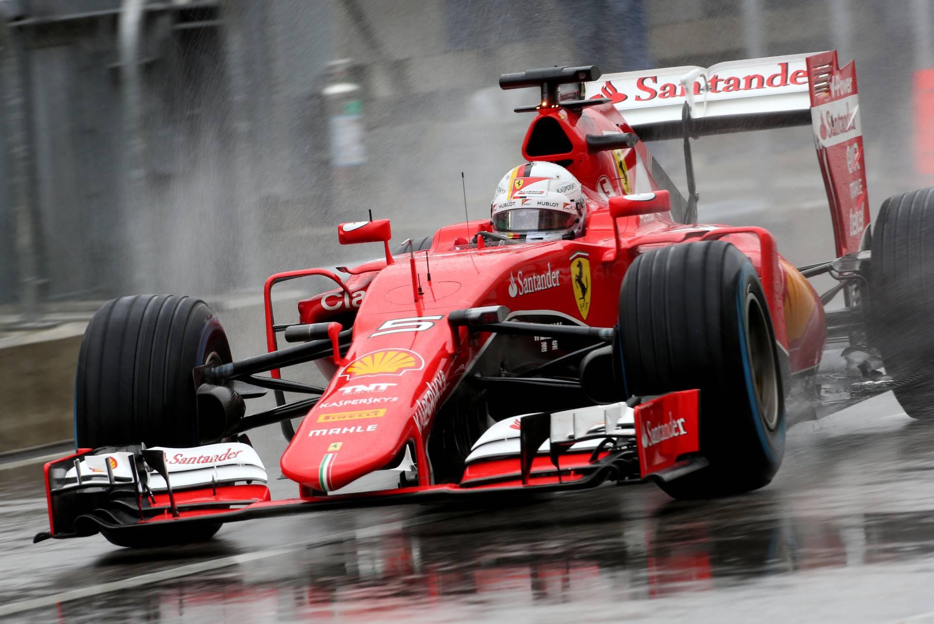 F1 Wallpaper Sebastian Vettel Ferrari