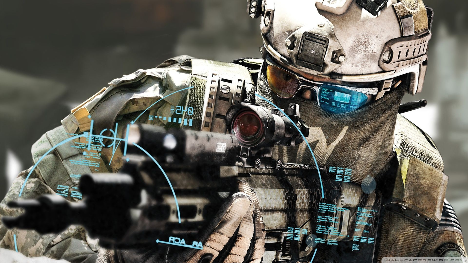 Futuristic Soldier Wallpapers Top Free Futuristic Soldier Backgrounds Wallpaperaccess