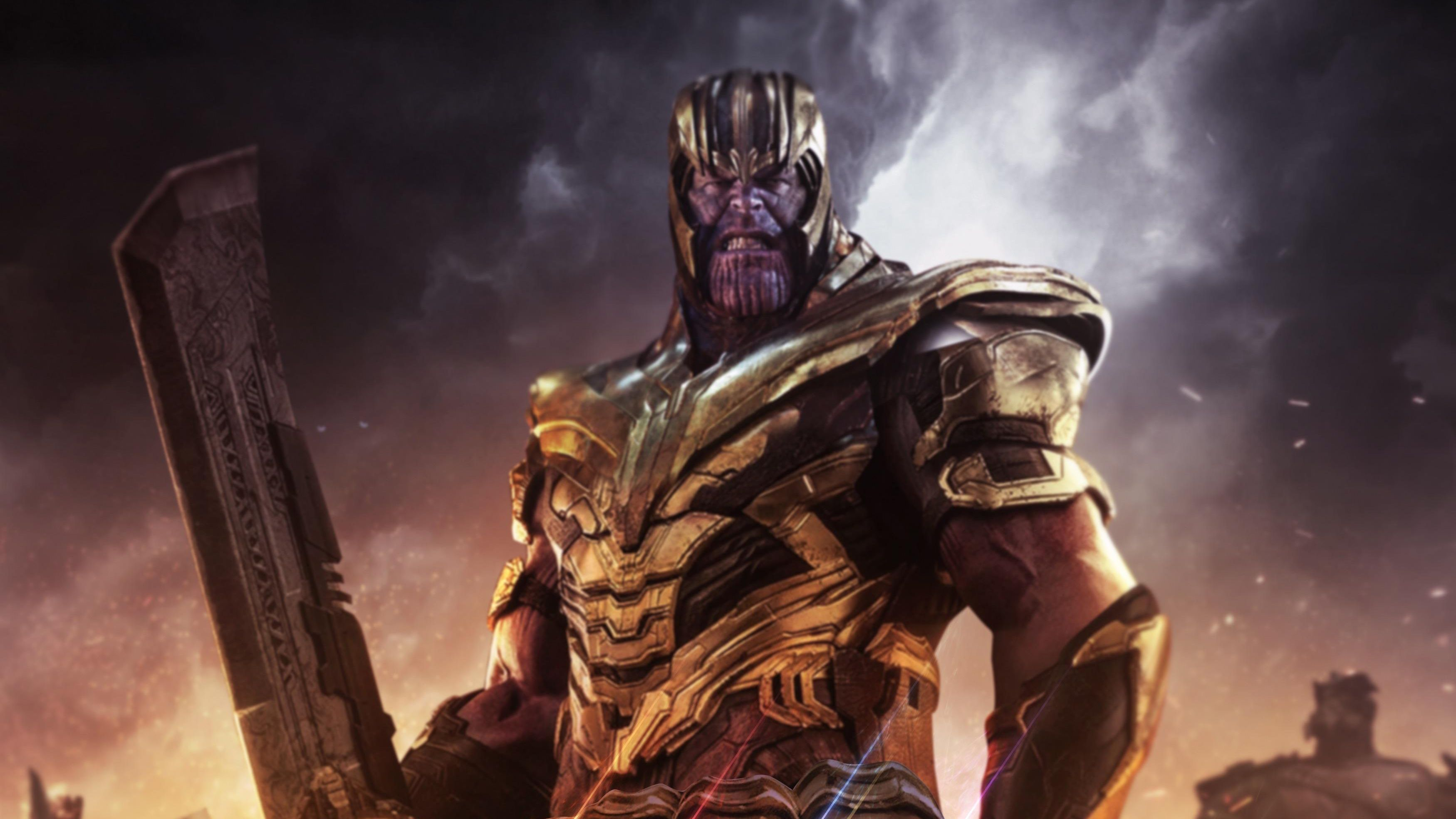 Thanos Endgame Wallpapers Top Free Thanos Endgame Backgrounds Wallpaperaccess