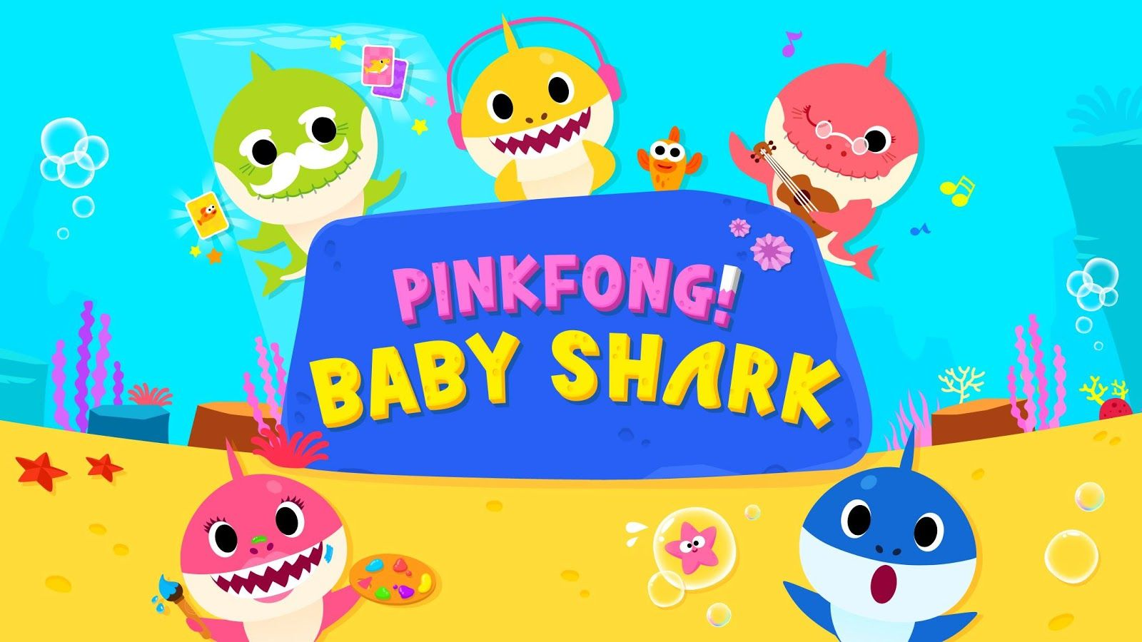 Baby Shark Wallpapers Top Free Baby Shark Backgrounds
