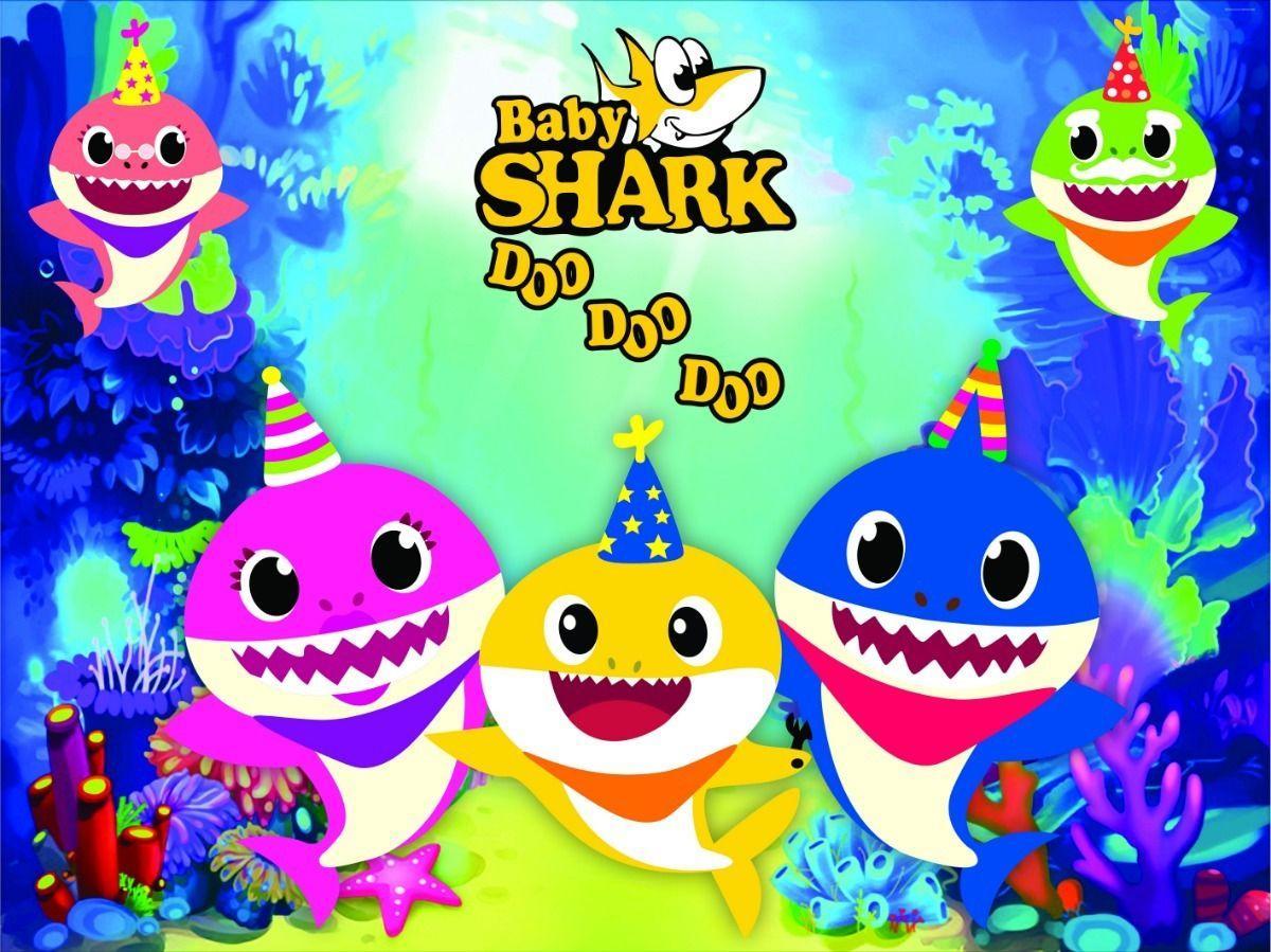 Birthday Baby Shark Wallpapers - Top Free Birthday Baby ...