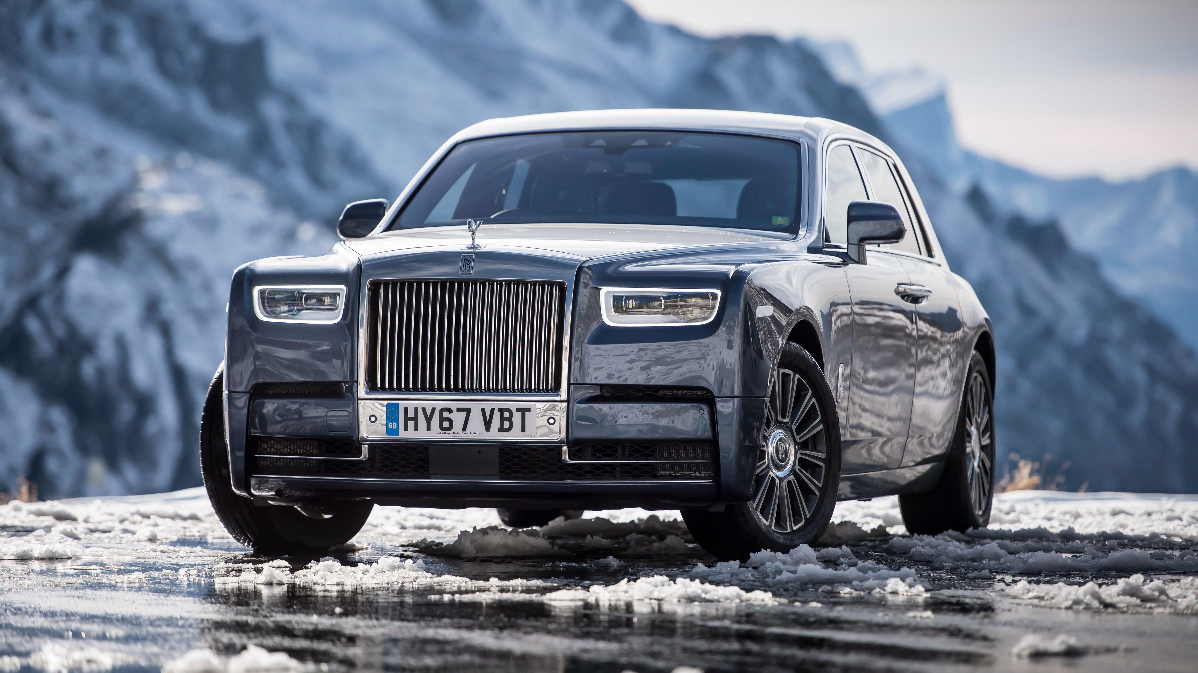 Rolls Royce Car 4k Wallpaper
