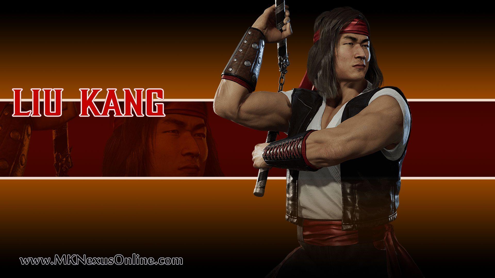 Liu Kang Wallpapers Top Free Liu Kang Backgrounds Wallpaperaccess