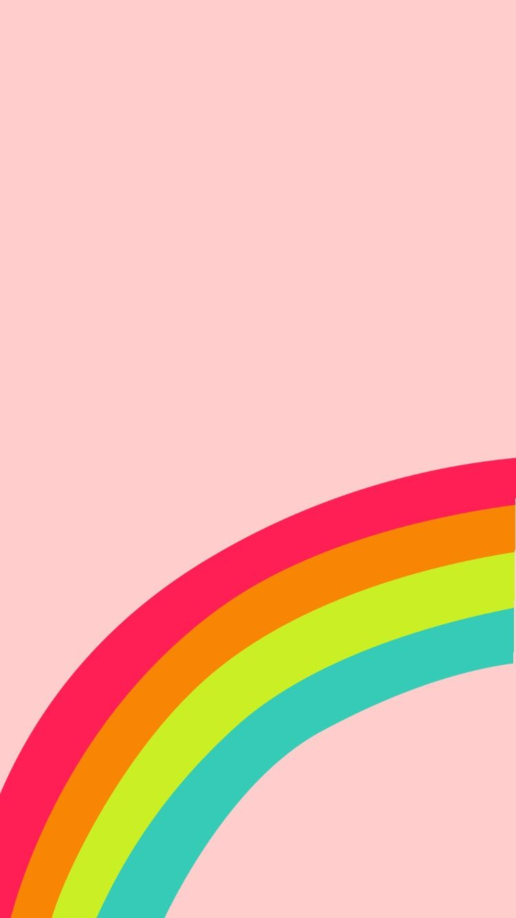 Pink Rainbow Wallpapers Top Free Pink Rainbow Backgrounds Wallpaperaccess