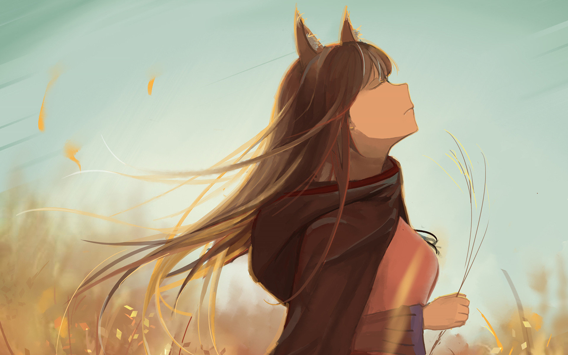 Spice And Wolf Wallpapers Top Free Spice And Wolf Backgrounds