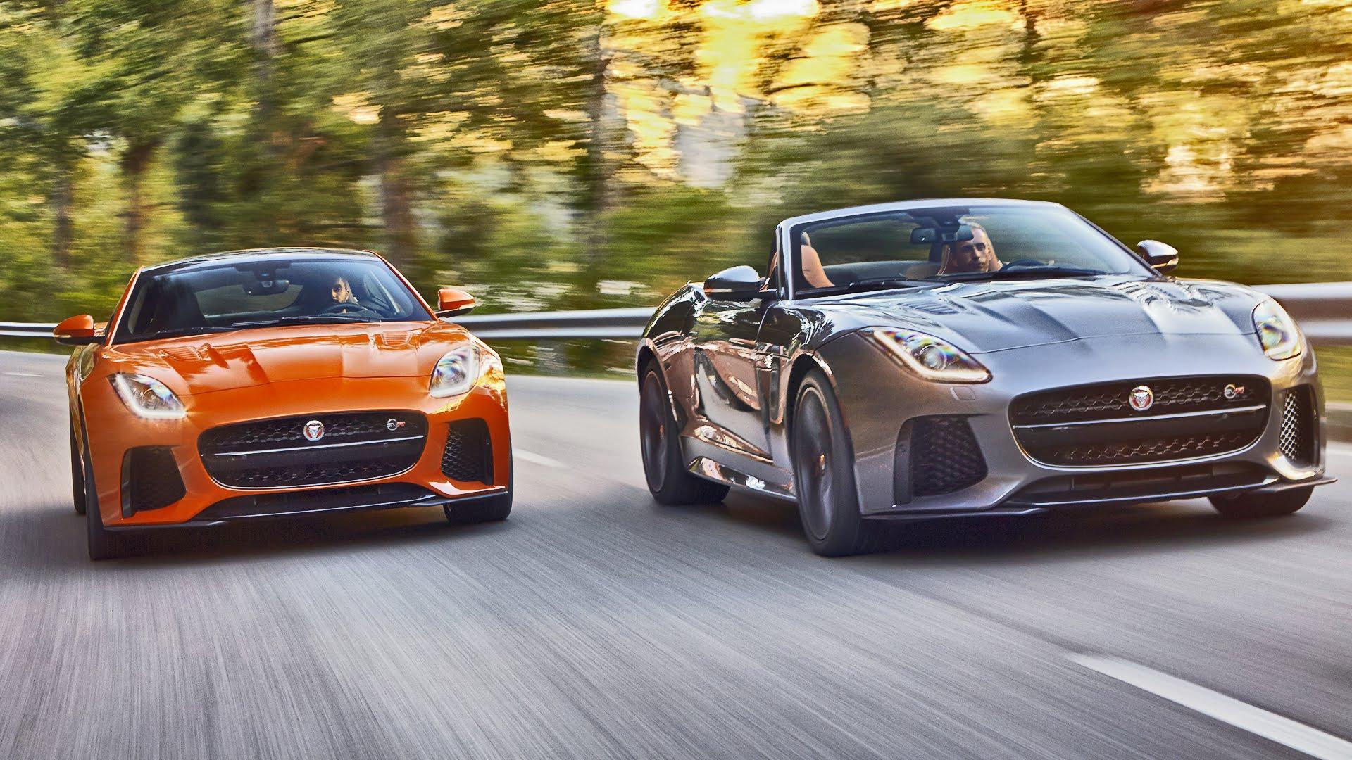 Jaguar FTYPE SVR News and