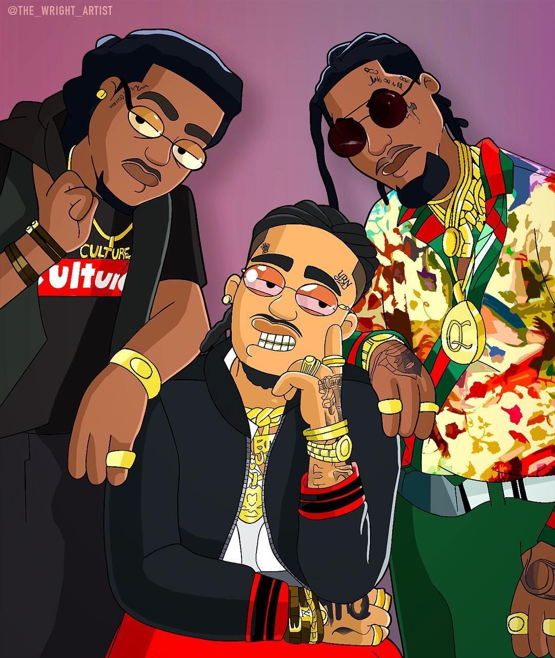 Cartoon Rapper Wallpapers Top Free Cartoon Rapper Backgrounds Wallpaperaccess