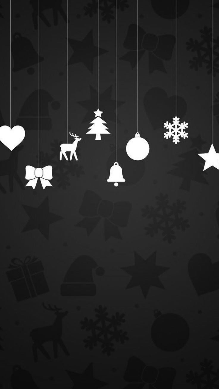 Black Christmas Wallpapers Top Free Black Christmas Backgrounds