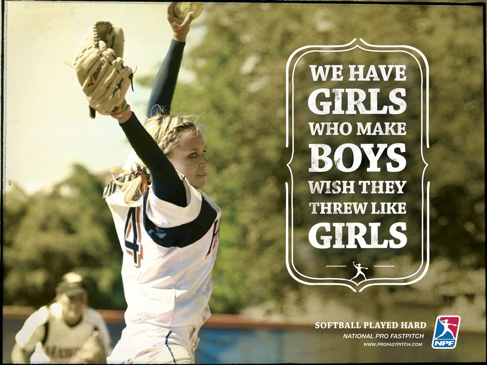Awesome Softball Wallpapers: Cute Softball Wallpapers