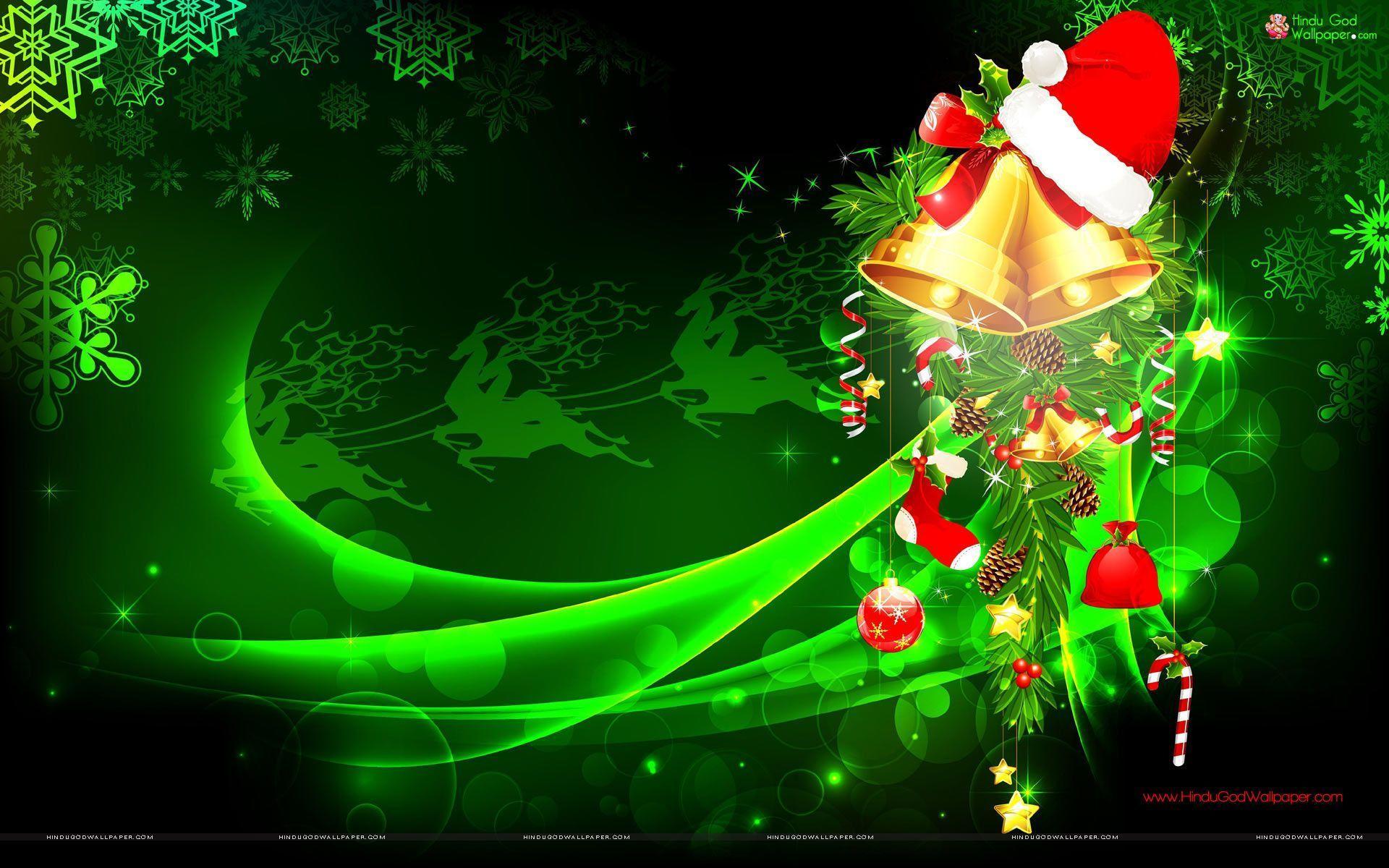 Green Christmas Wallpapers - Top Free Green Christmas ...