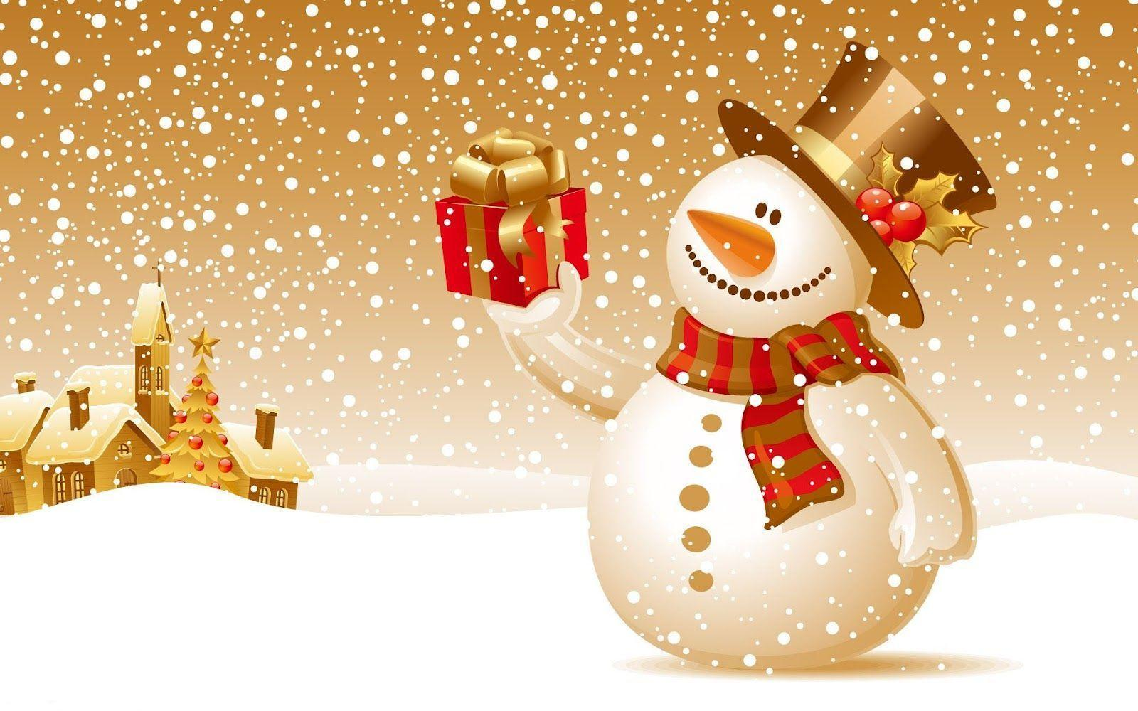Christmas Snowman Wallpapers Top Free Christmas Snowman Backgrounds Wallpaperaccess