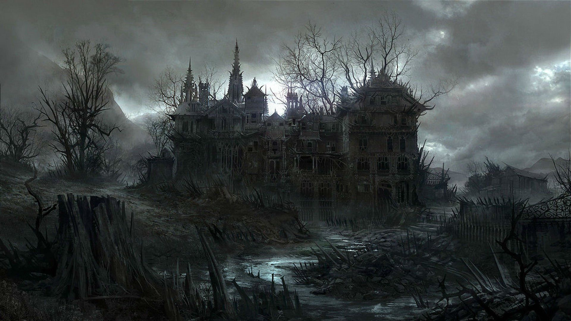 Haunted Castle Wallpapers Top Free Haunted Castle