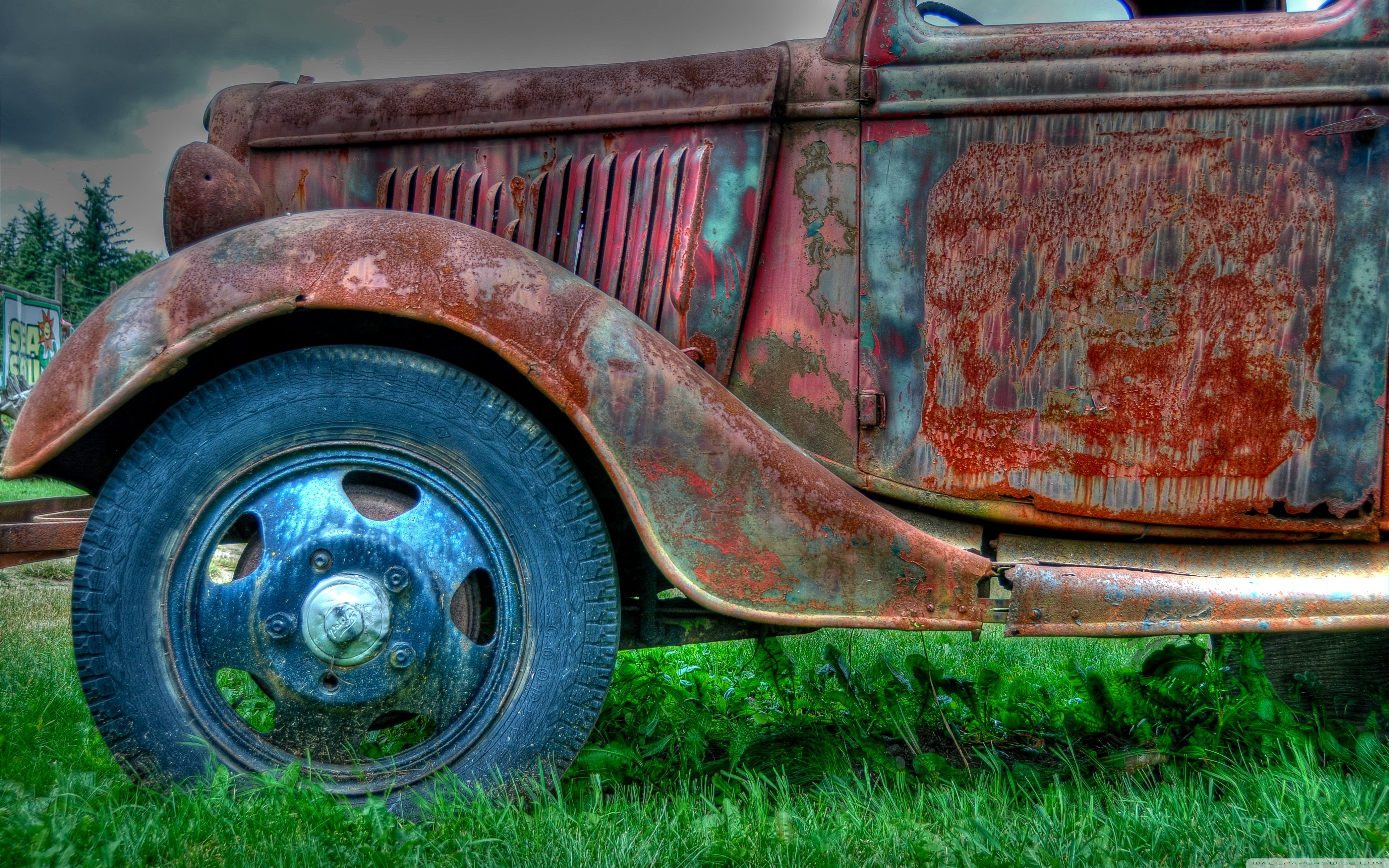 Rusty Old Car Wallpapers Top Free Rusty Old Car Backgrounds Wallpaperaccess