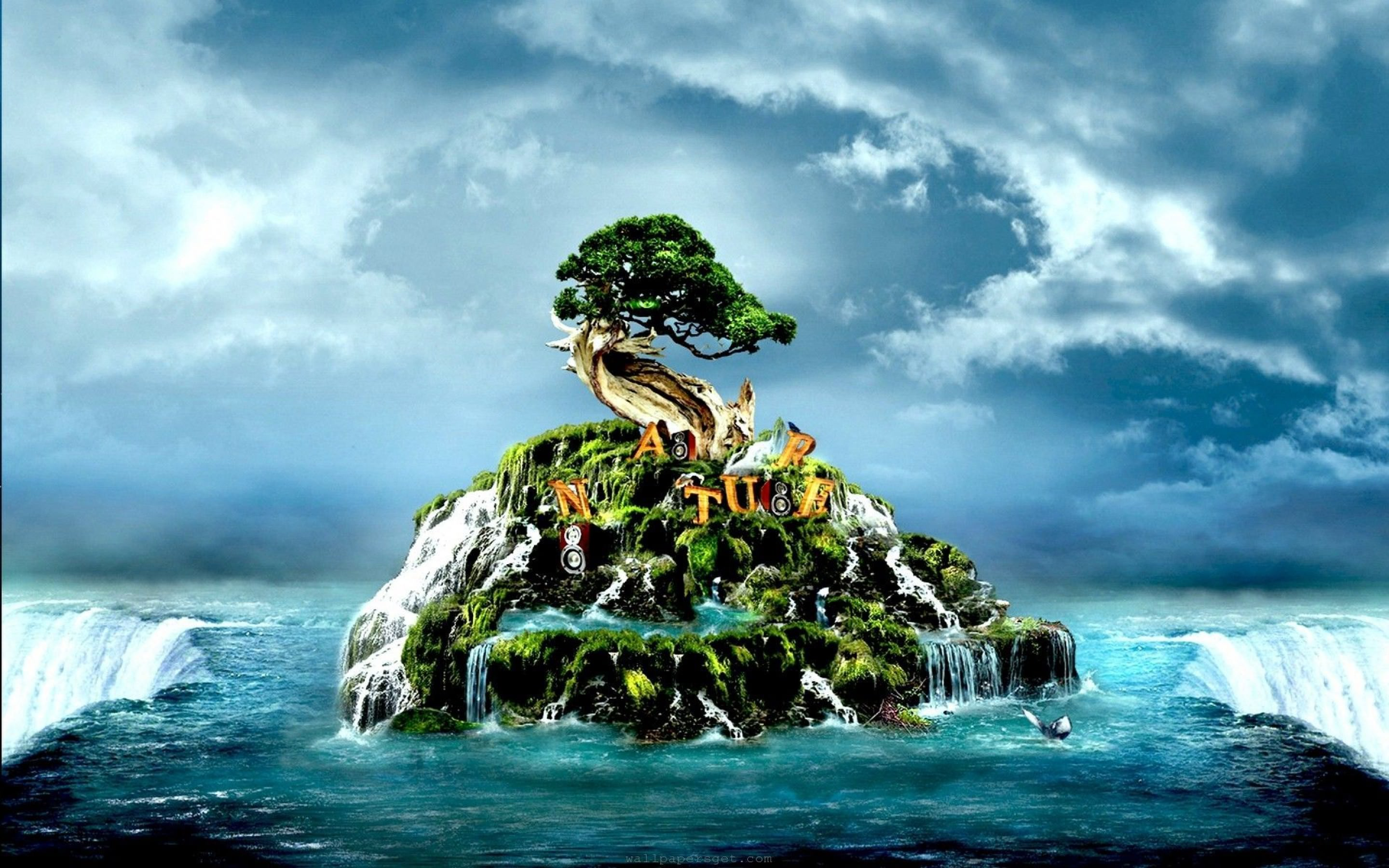 3d Nature Wallpapers Top Free 3d Nature Backgrounds Wallpaperaccess