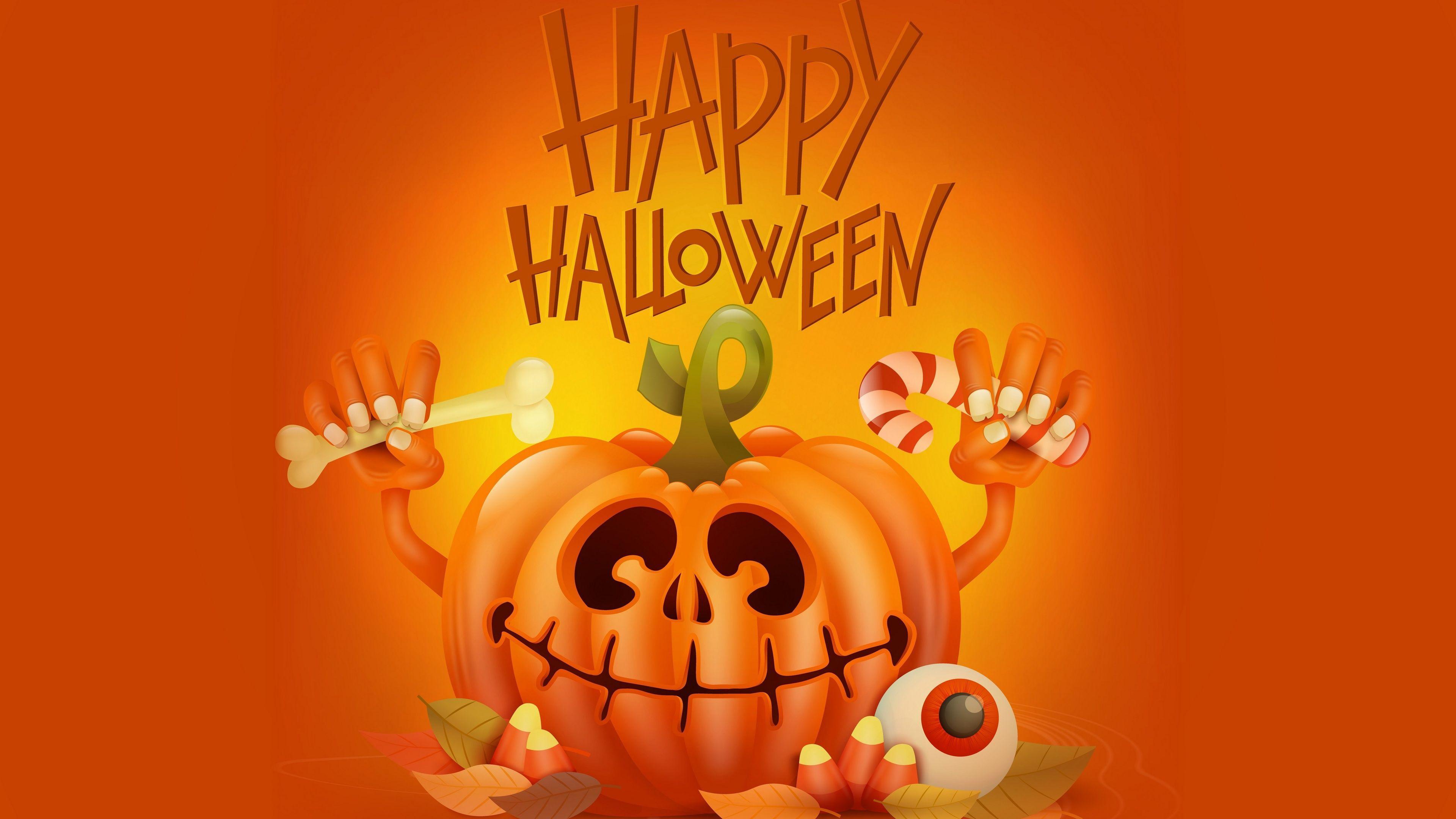 Happy Halloween Pumpkin Wallpapers - Top Free Happy ...