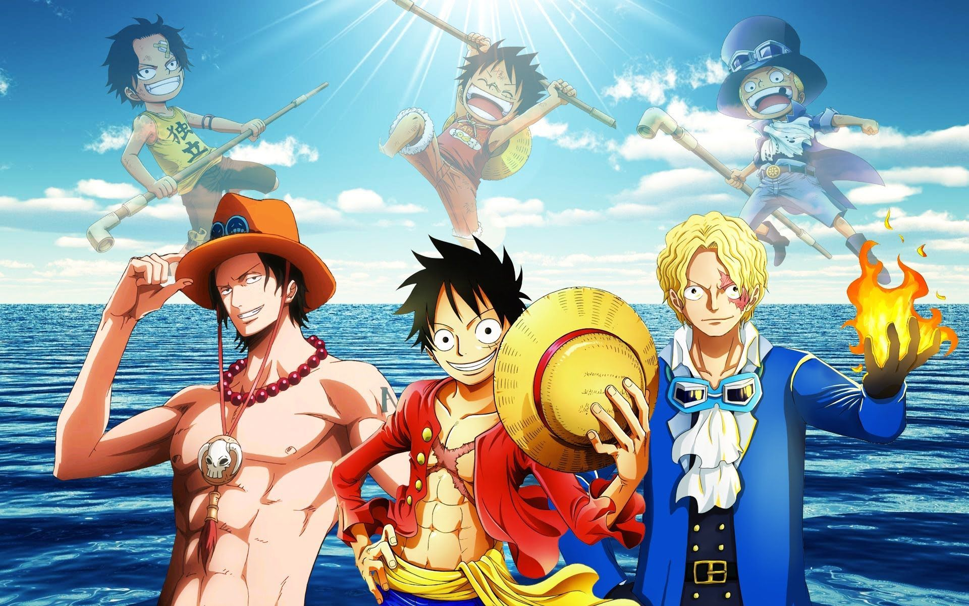 Luffy Ace Sabo Wallpapers Top Free Luffy Ace Sabo