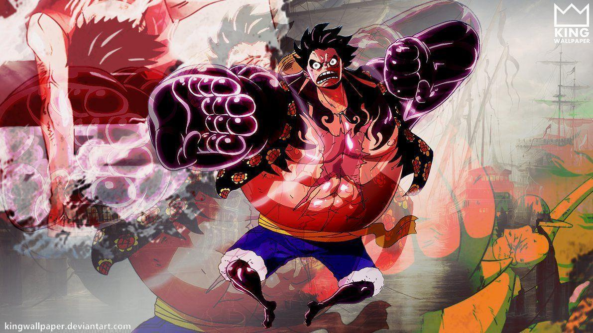 Luffy Gear 4 Wallpapers Top Free Luffy Gear 4 Backgrounds Wallpaperaccess
