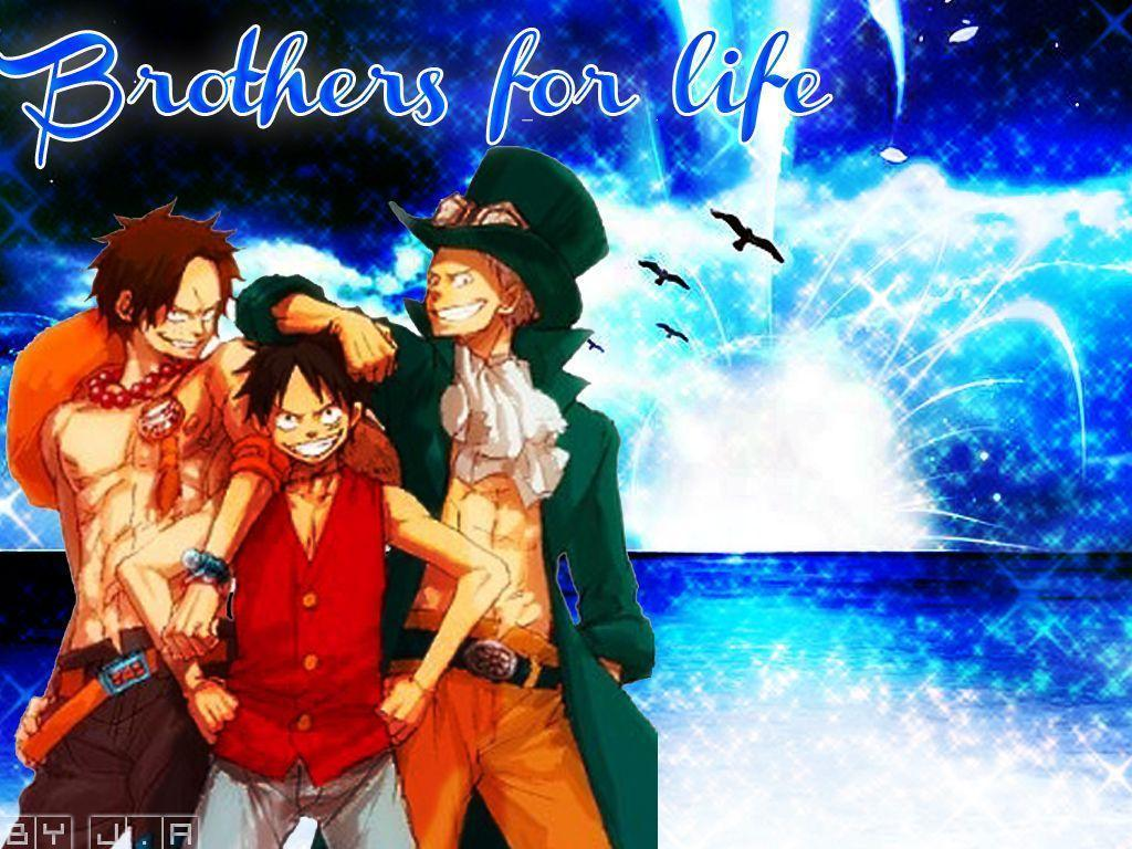 Luffy Ace Sabo Wallpapers Top Free Luffy Ace Sabo Backgrounds Wallpaperaccess
