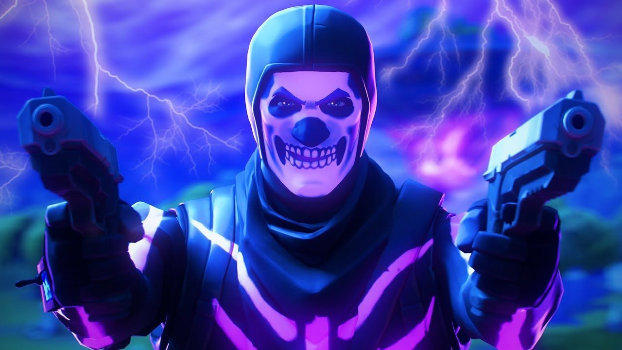 Purple Skull Trooper Wallpapers Top Free Purple Skull Trooper Backgrounds Wallpaperaccess