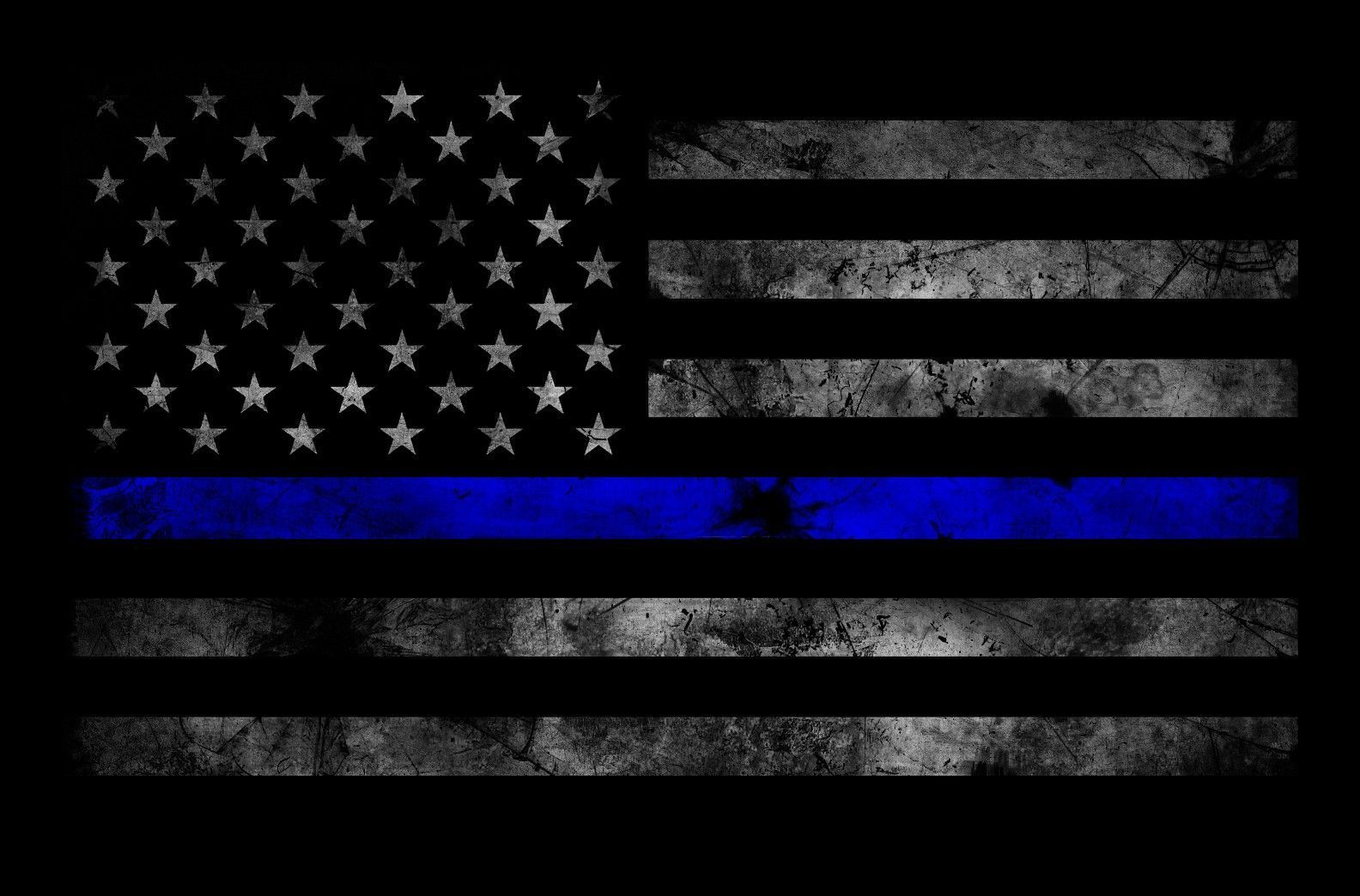 Thin Blue Line Wallpapers Top Free Thin Blue Line Backgrounds