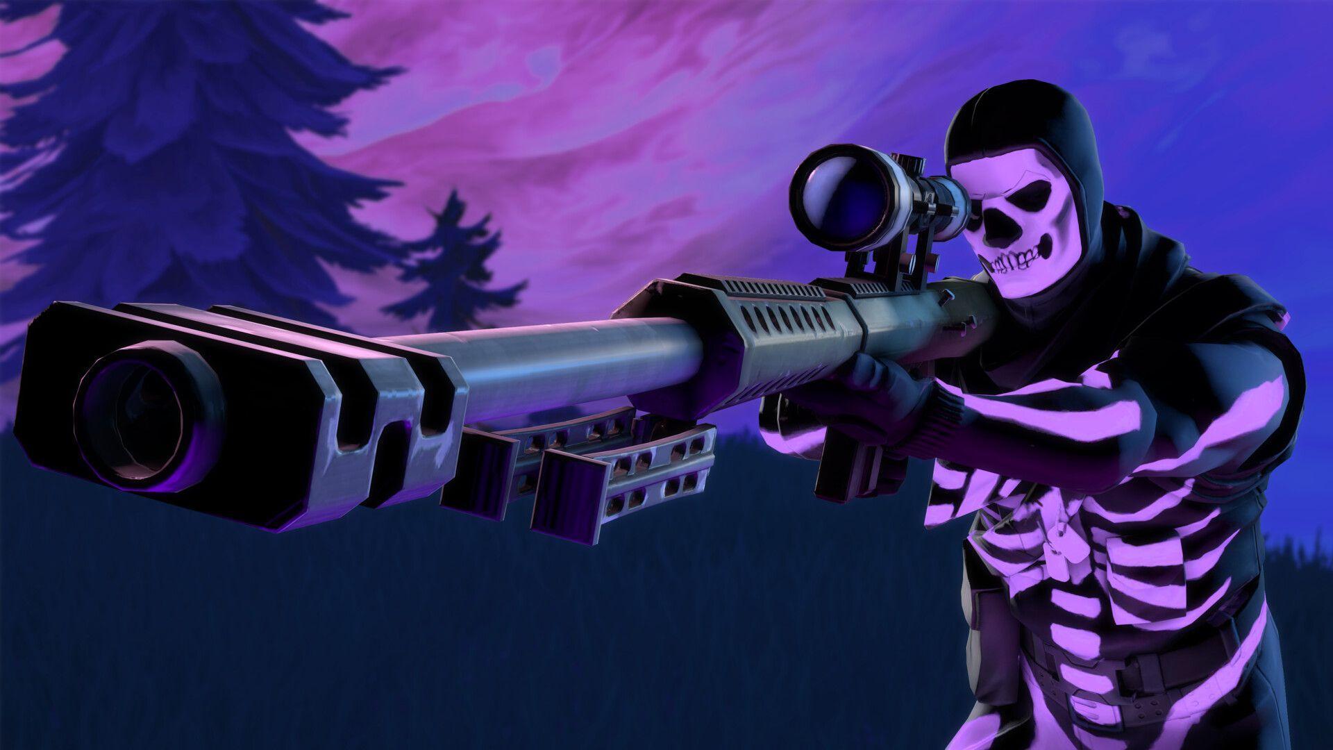 Purple Skull Trooper Wallpapers - Top Free Purple Skull ...