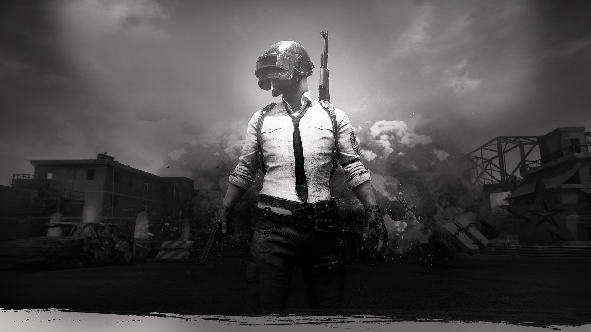 Pubg Black And White Wallpapers Top Free Pubg Black And White Backgrounds Wallpaperaccess