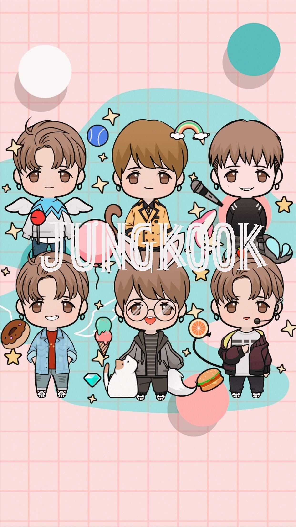1242x2208 Phim hoạt hình Jungkook.  GIẤY TƯỜNG JUNGKOOK năm 2019. Phim hoạt hình