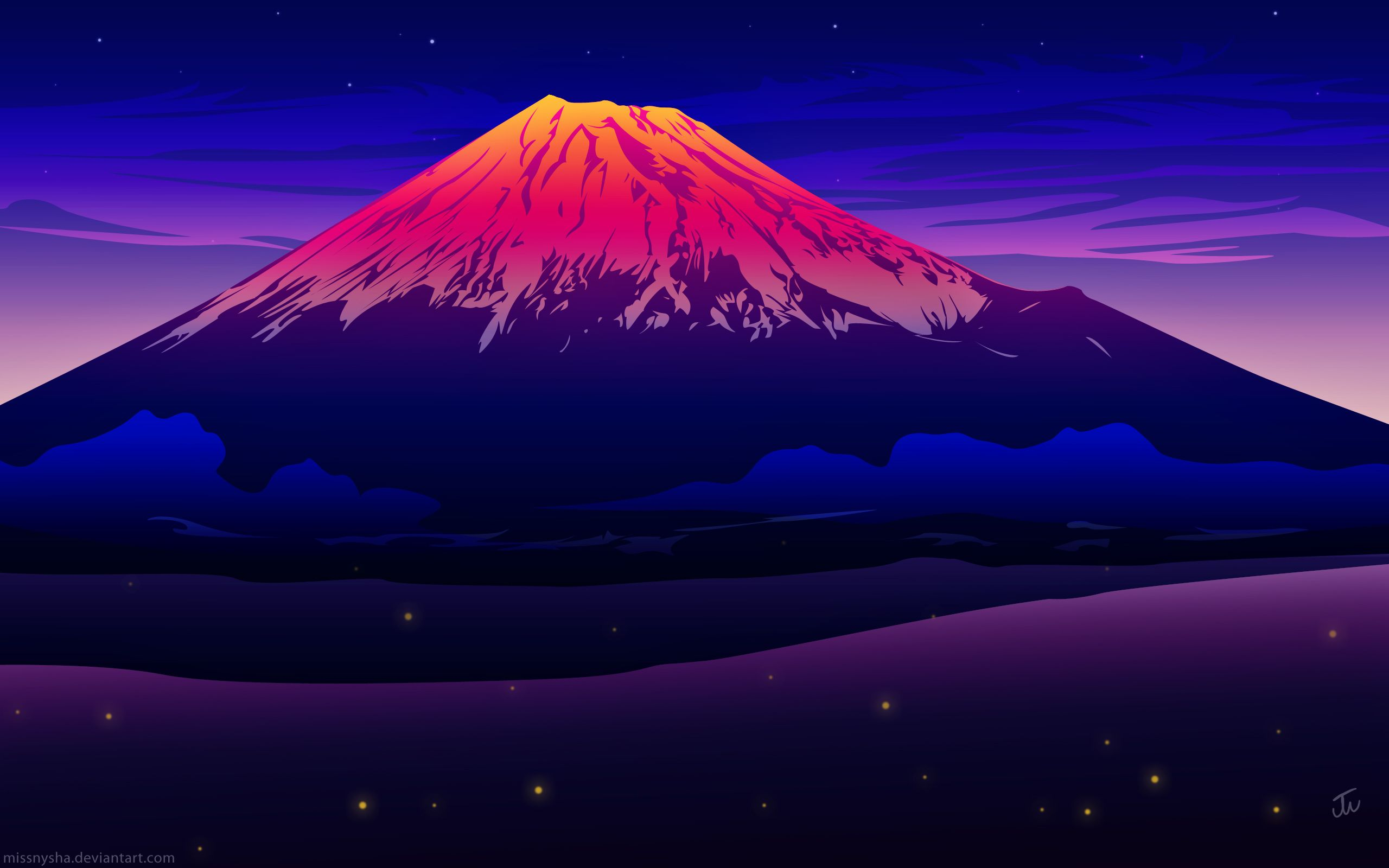 Mount Fuji Sunset Wallpapers Top Free Mount Fuji Sunset