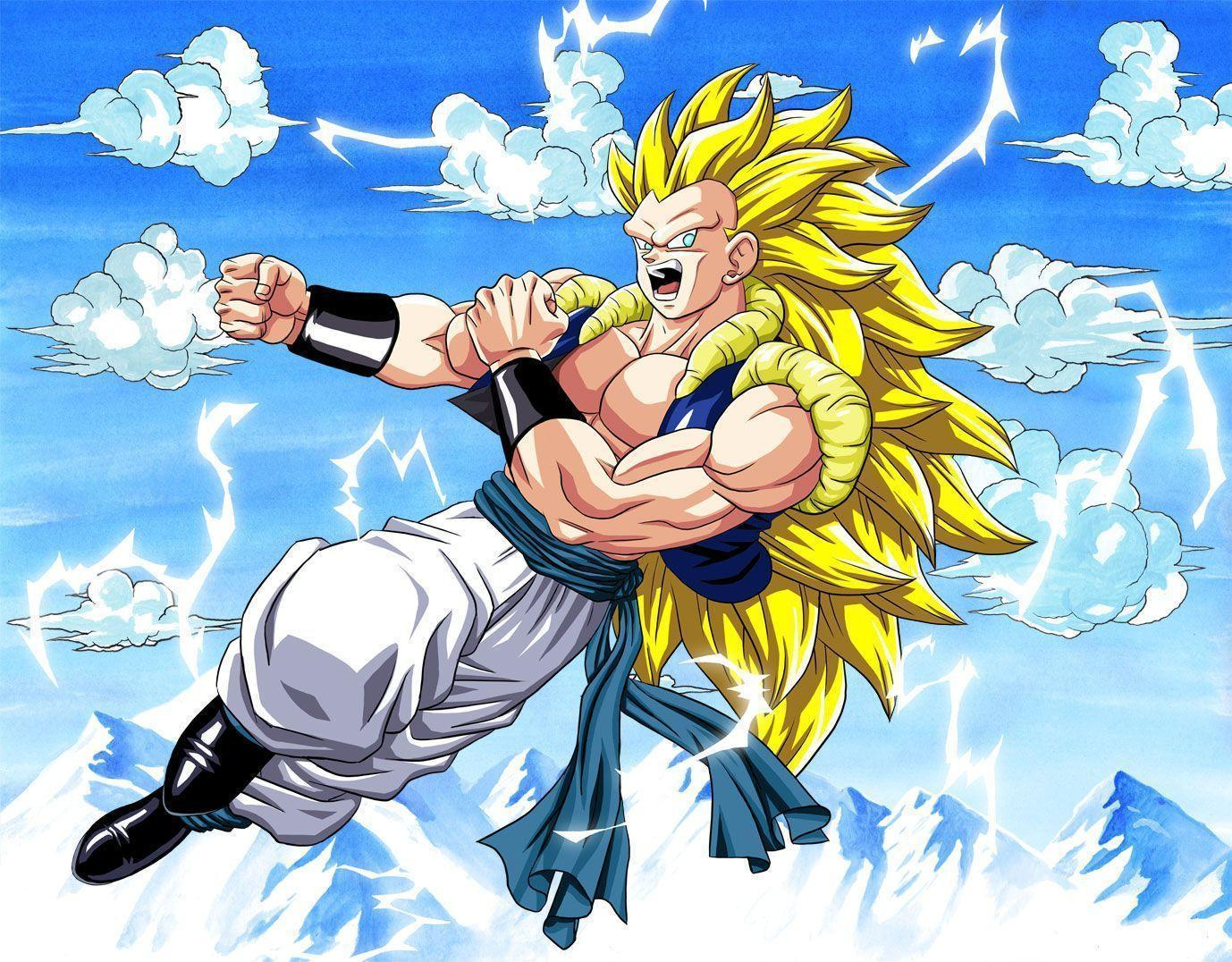 Gotenks Wallpapers Top Free Gotenks Backgrounds Wallpaperaccess