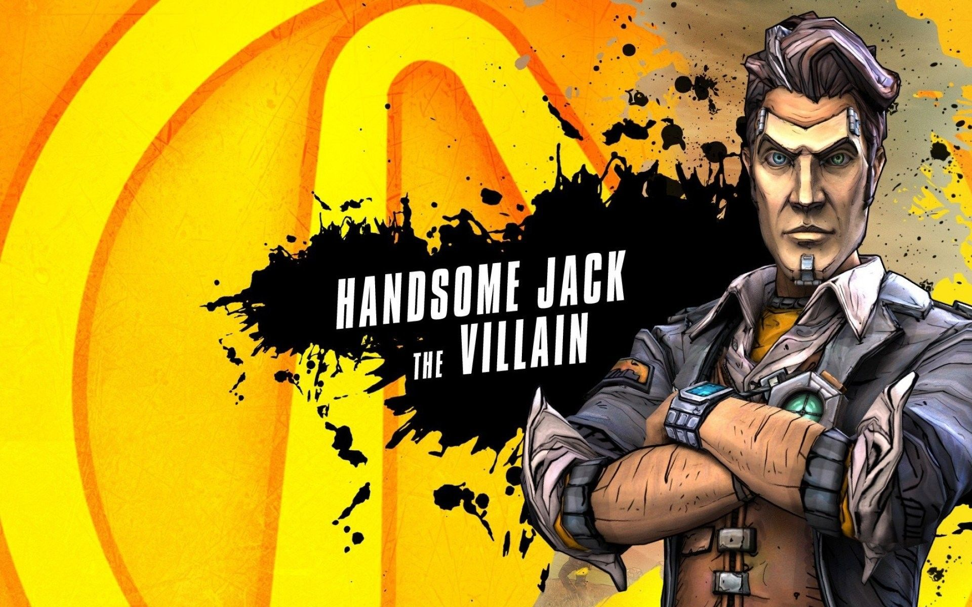 Handsome Jack Wallpapers Top Free Handsome Jack Backgrounds
