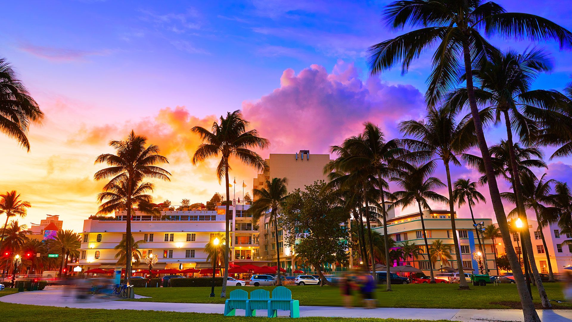 Top Free Miami Beach Backgrounds
