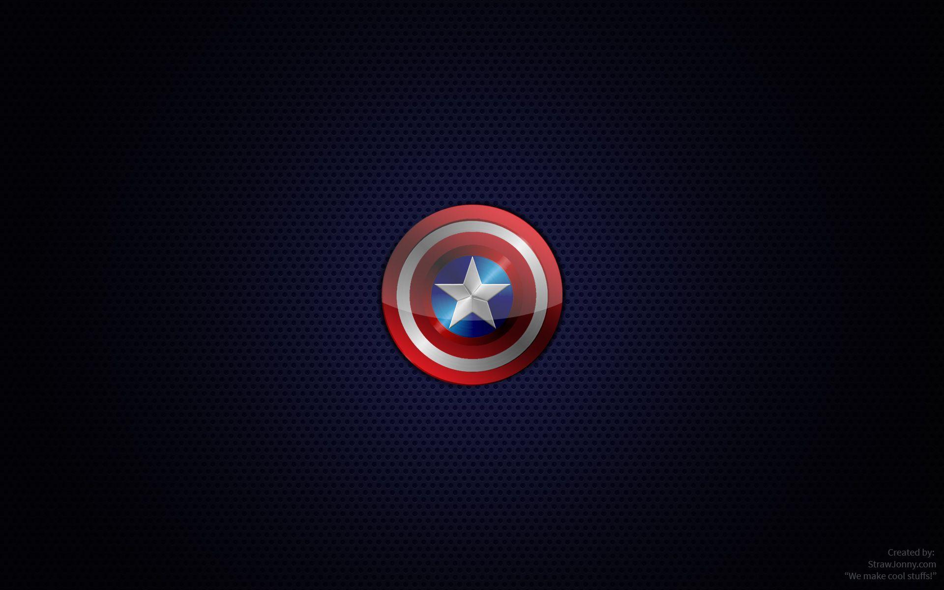 Captain America Logo Wallpapers Top Free Captain America Logo