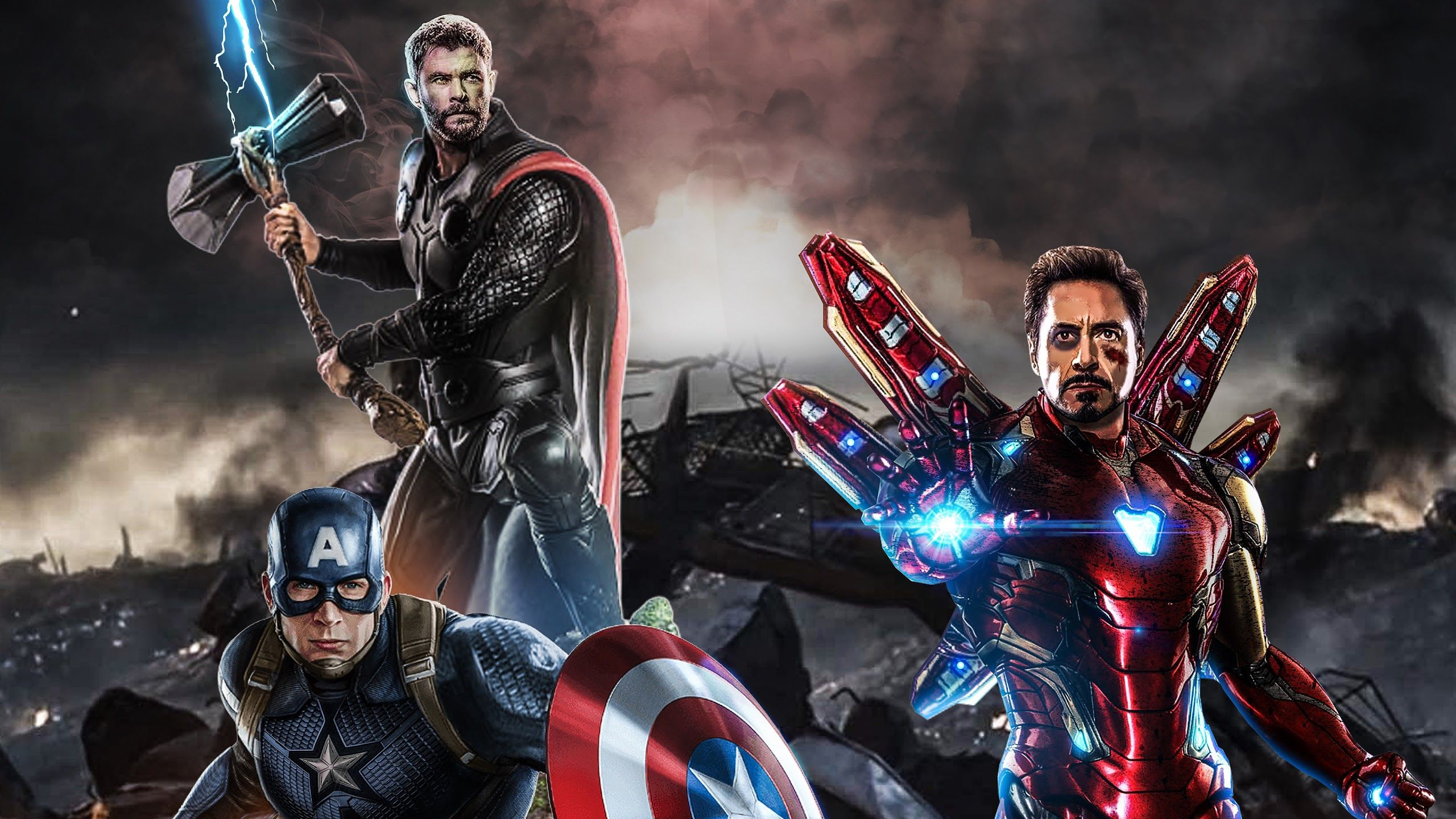 Captain America And Thor Wallpapers Top Free Captain America And