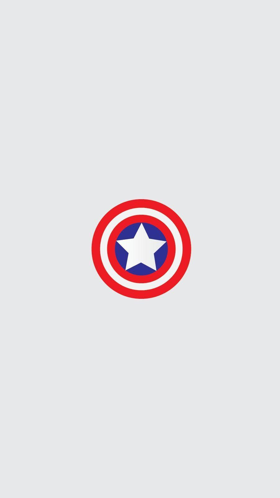 Captain America Logo Wallpapers - Top Free Captain America