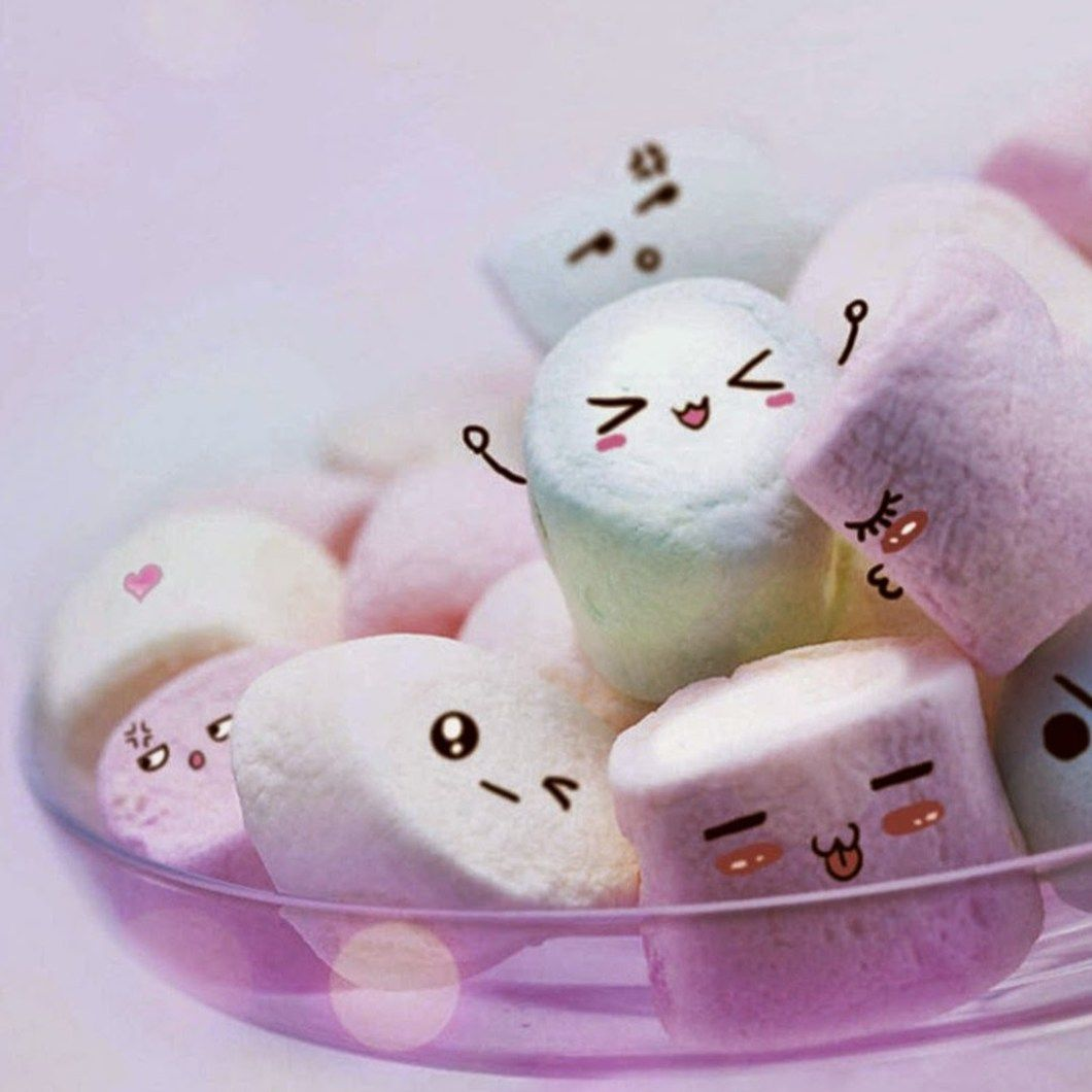 Kawaii Marshmallow Wallpapers