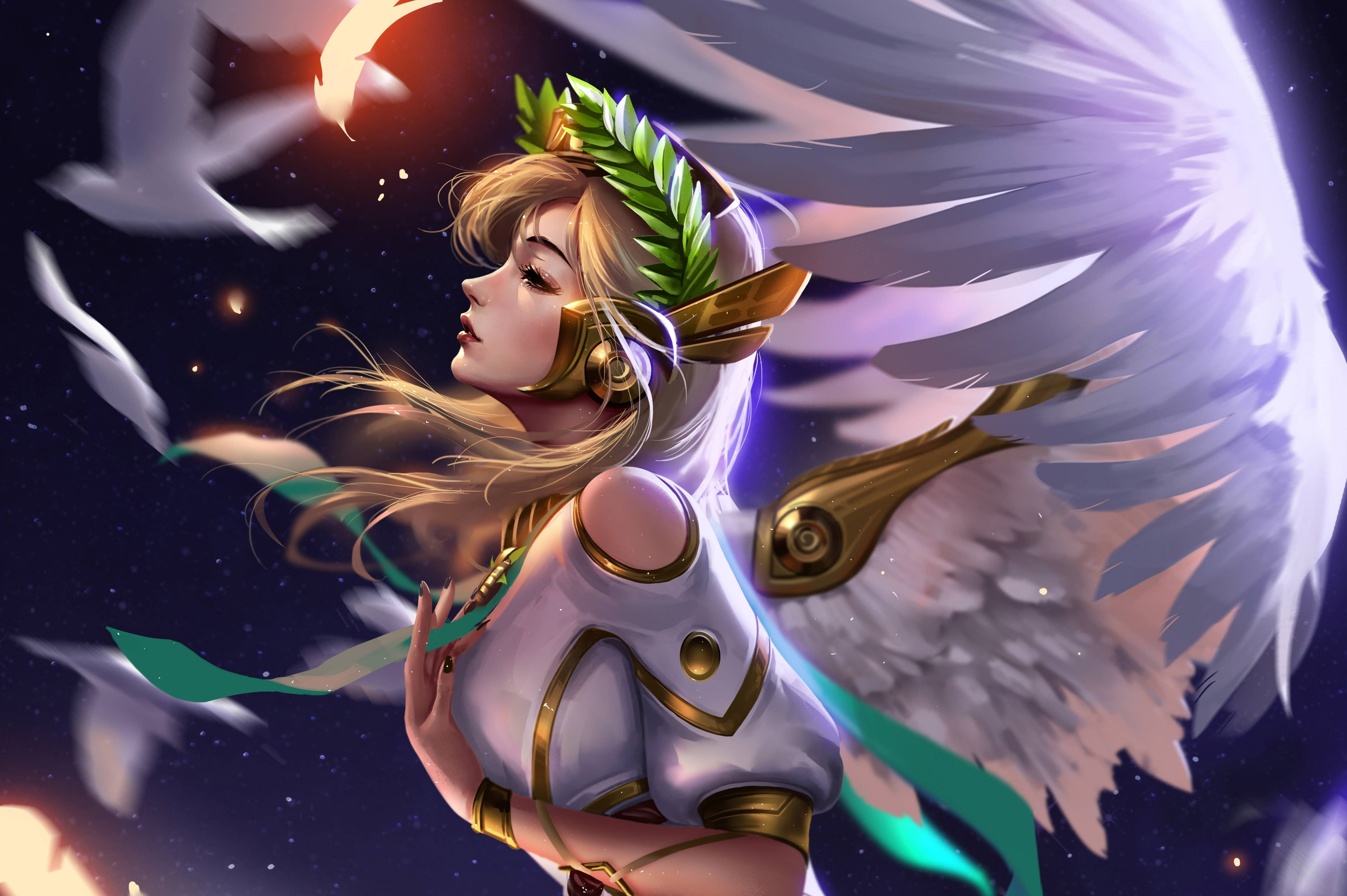 Mercy Wallpapers Top Free Mercy Backgrounds Wallpaperaccess