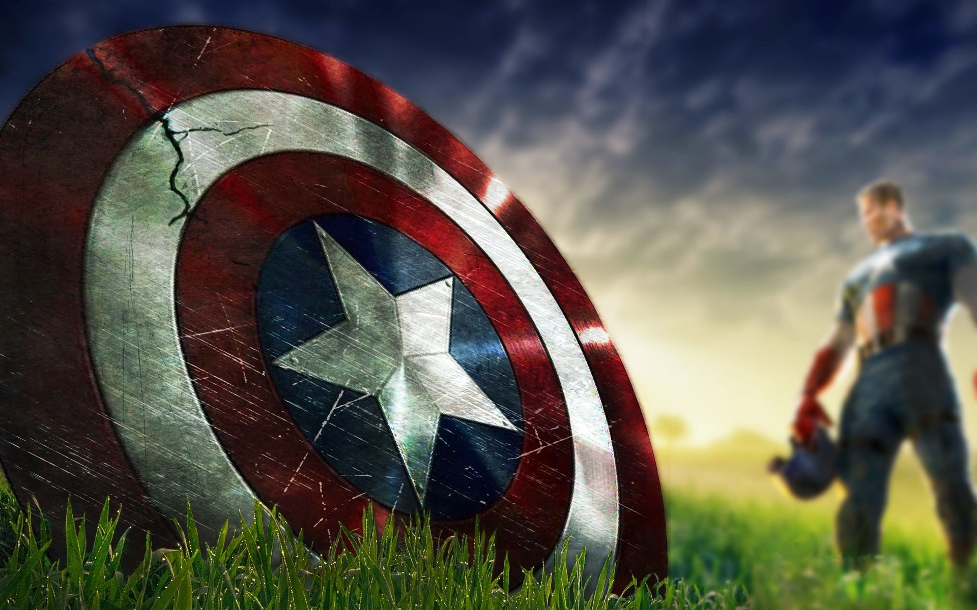 "1600x900 Captain America Shield Marvel Chris Evans HD wallpaper | movies and ..."">"