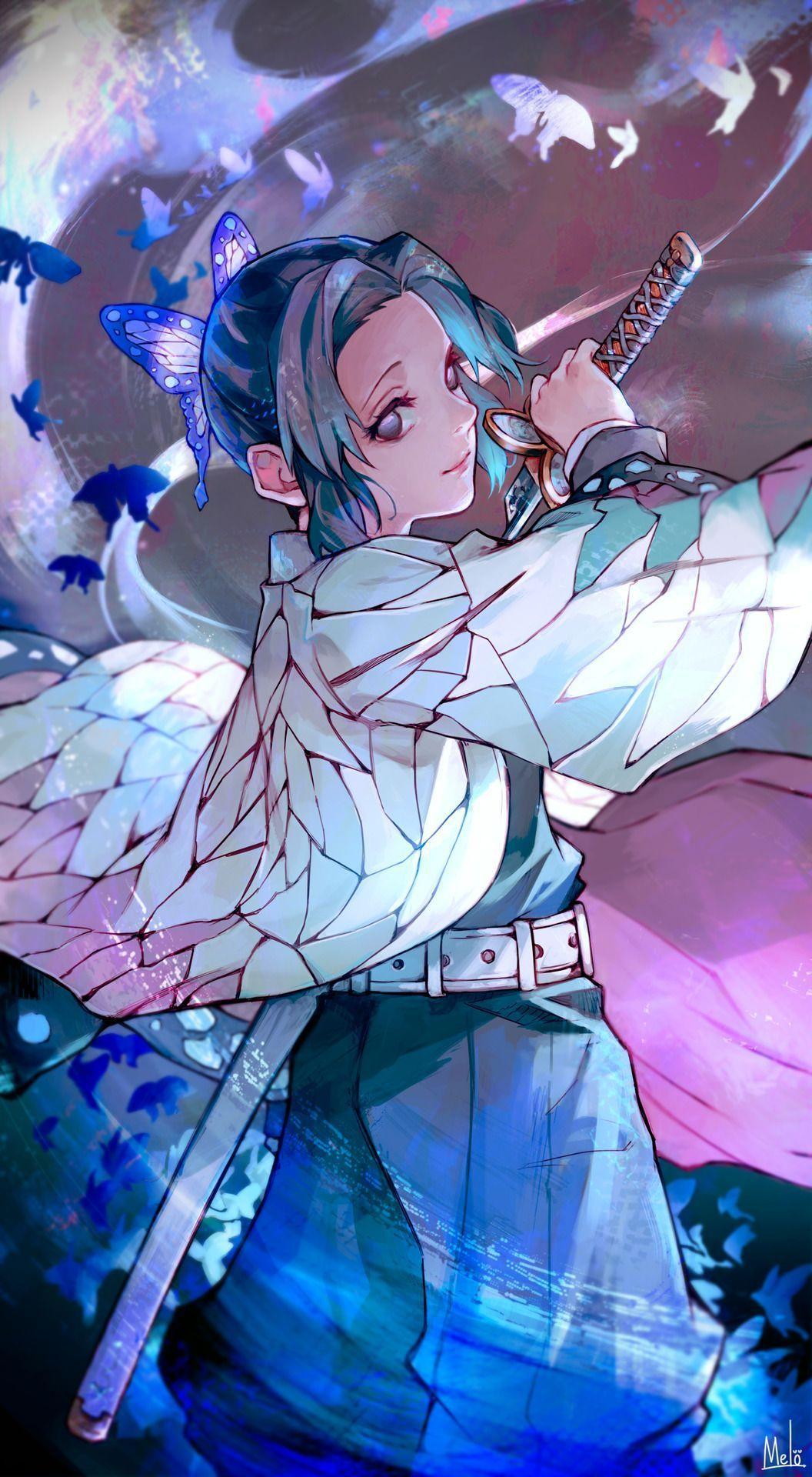 Shinobu Kocho Wallpapers - Top Free Shinobu Kocho Backgrounds - WallpaperAccess
