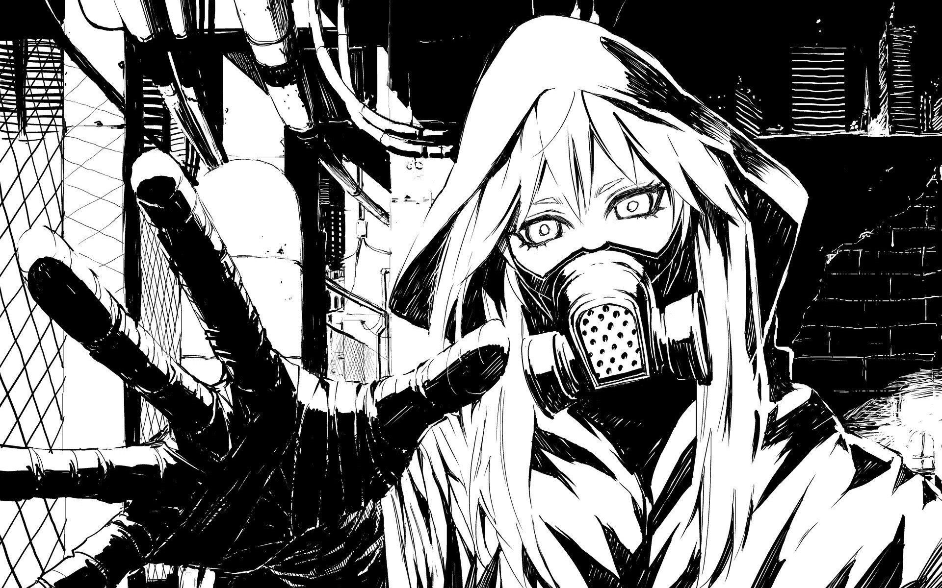 46 best free black and white anime wallpapers - wallpaperaccess