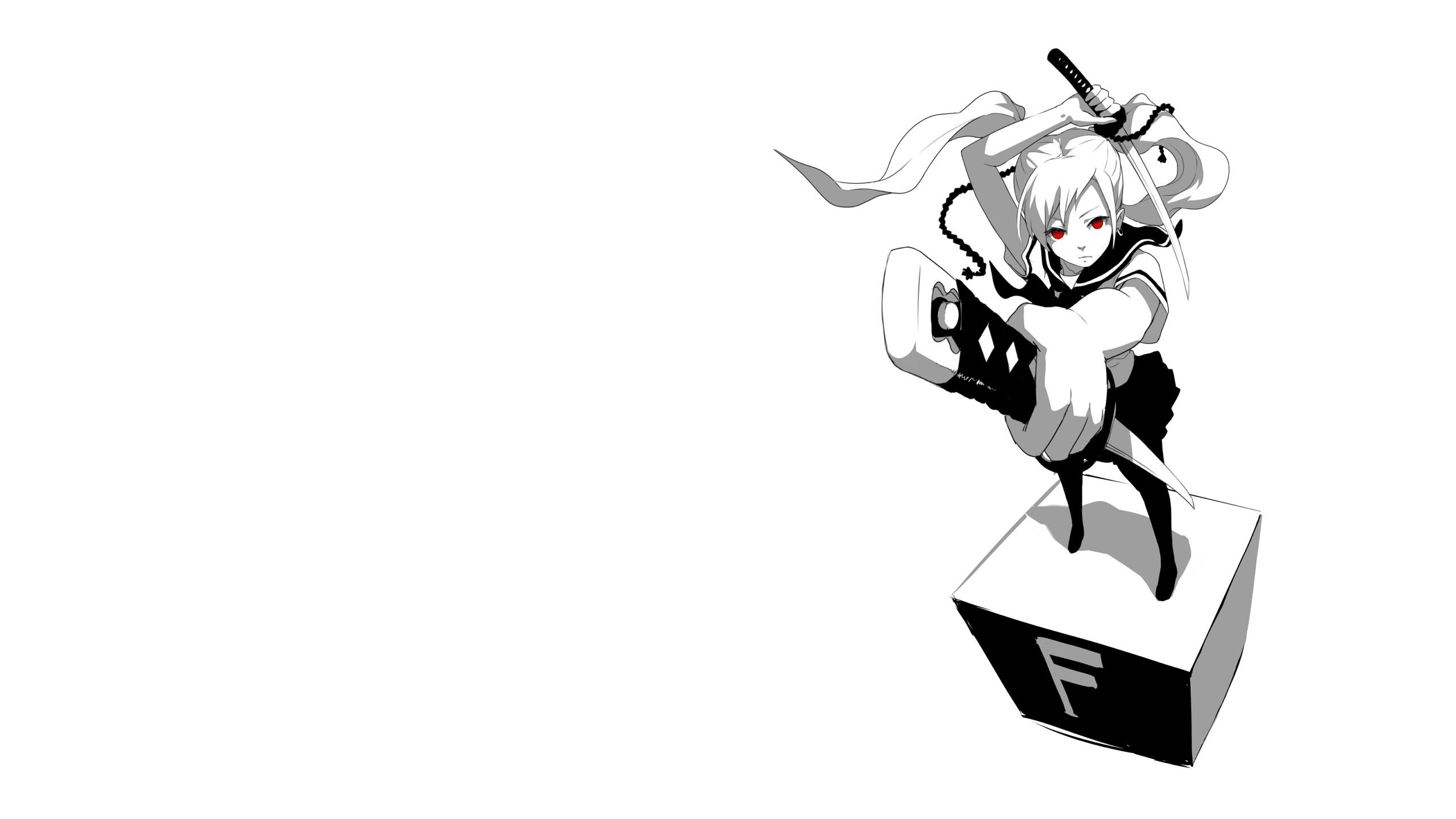 Black and White Anime Wallpapers - Top Free Black and ...